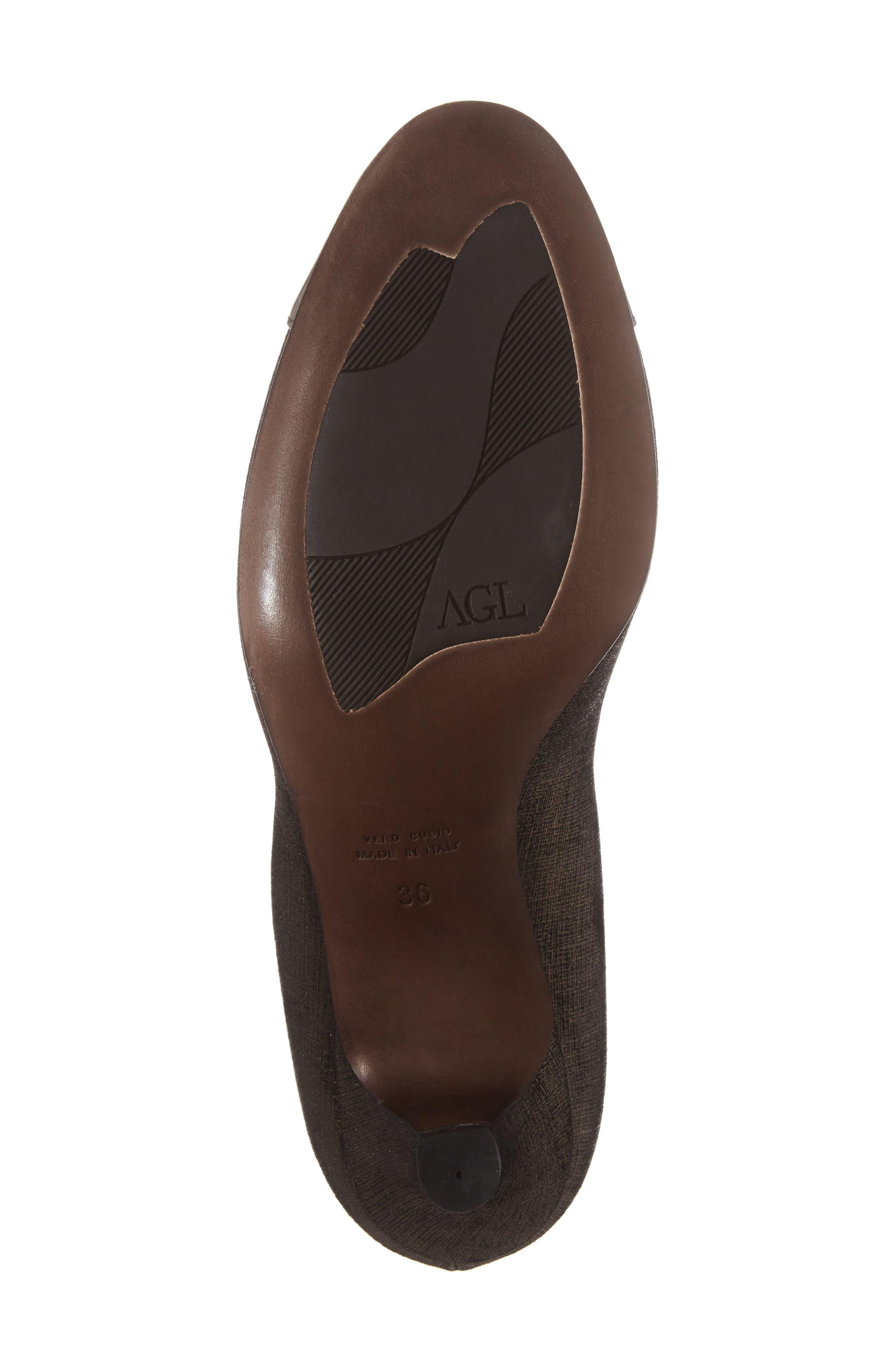 Cap Toe Pump,                             Alternate thumbnail 6, color,                             Francy Combo Leather