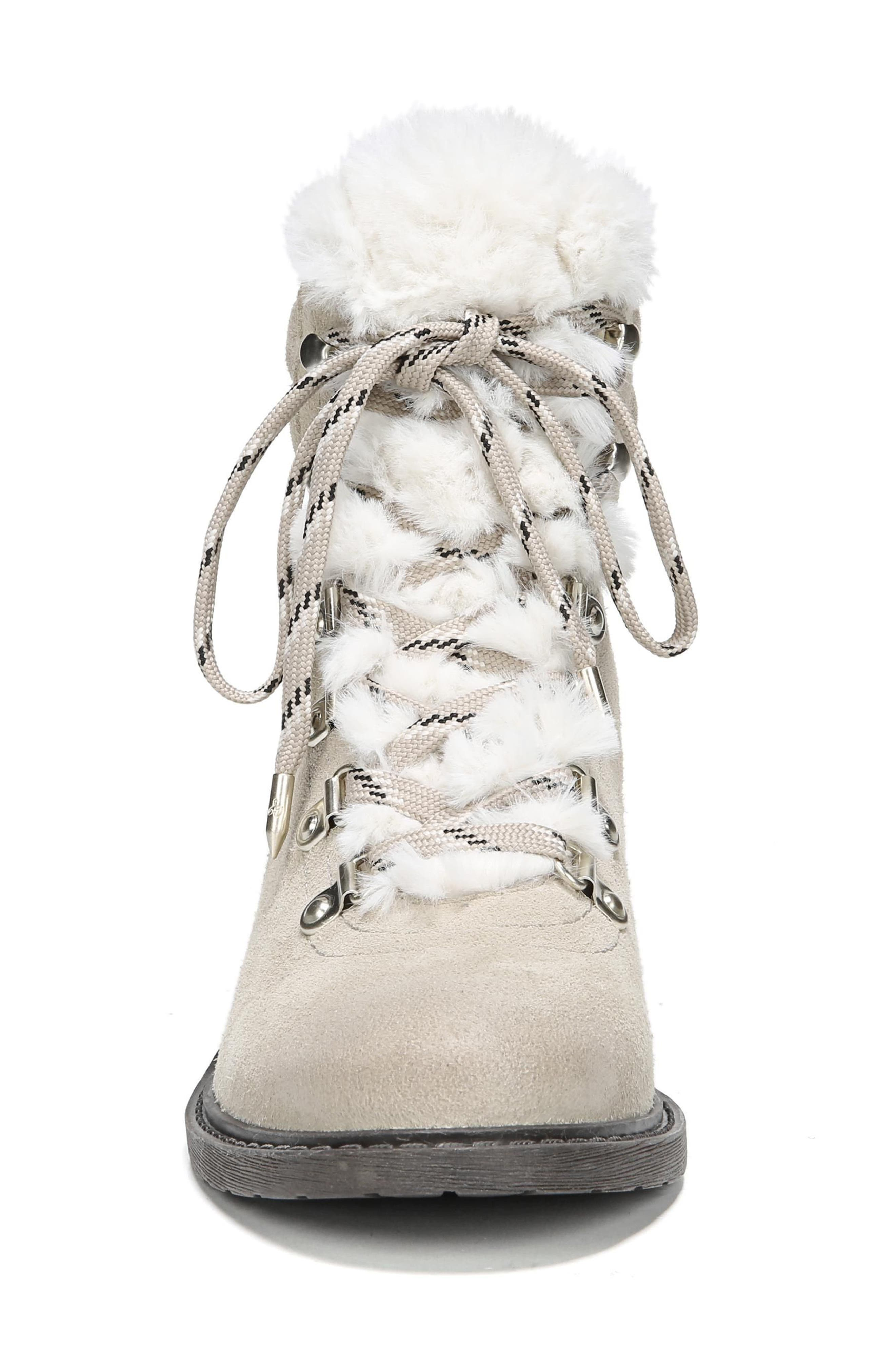 Alternate Image 4  - Sam Edelman Darrah 2 Faux Fur Trim Boot (Women)