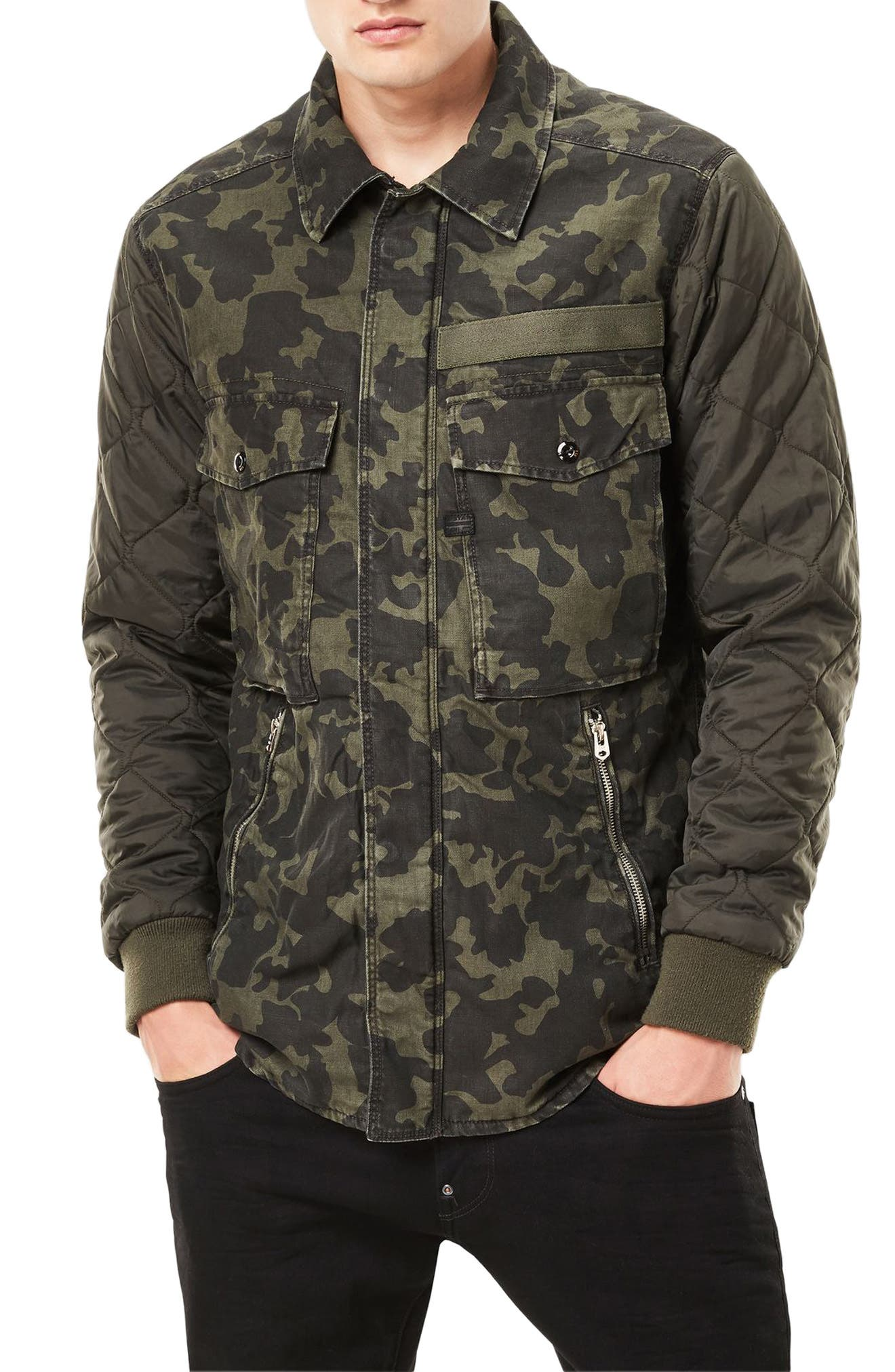 Alternate Image 1 Selected - G-Star Raw Type C Hybrid Padded Overshirt