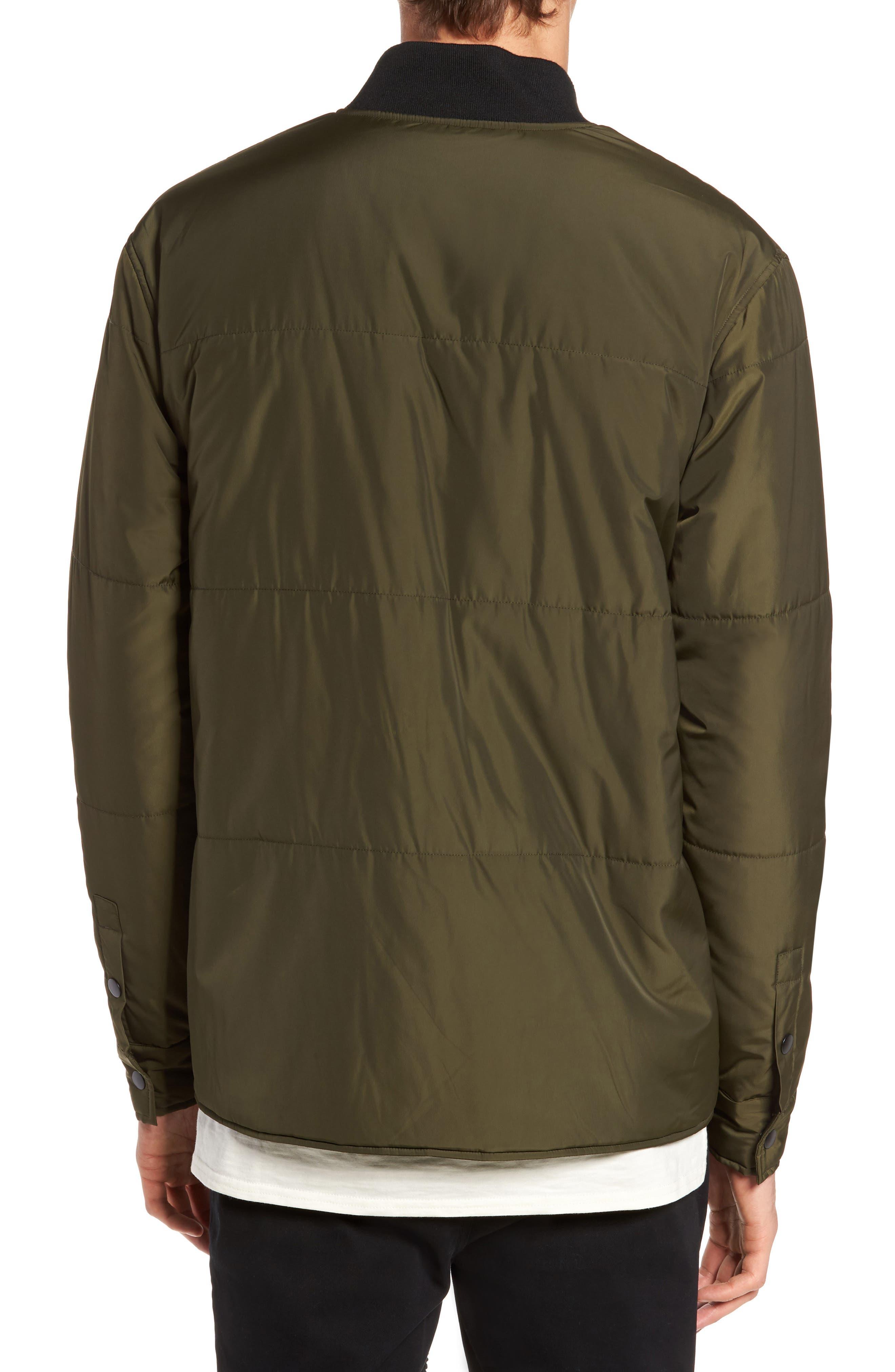 Alternate Image 2  - Lira Clothing Bundy Bomber Jacket