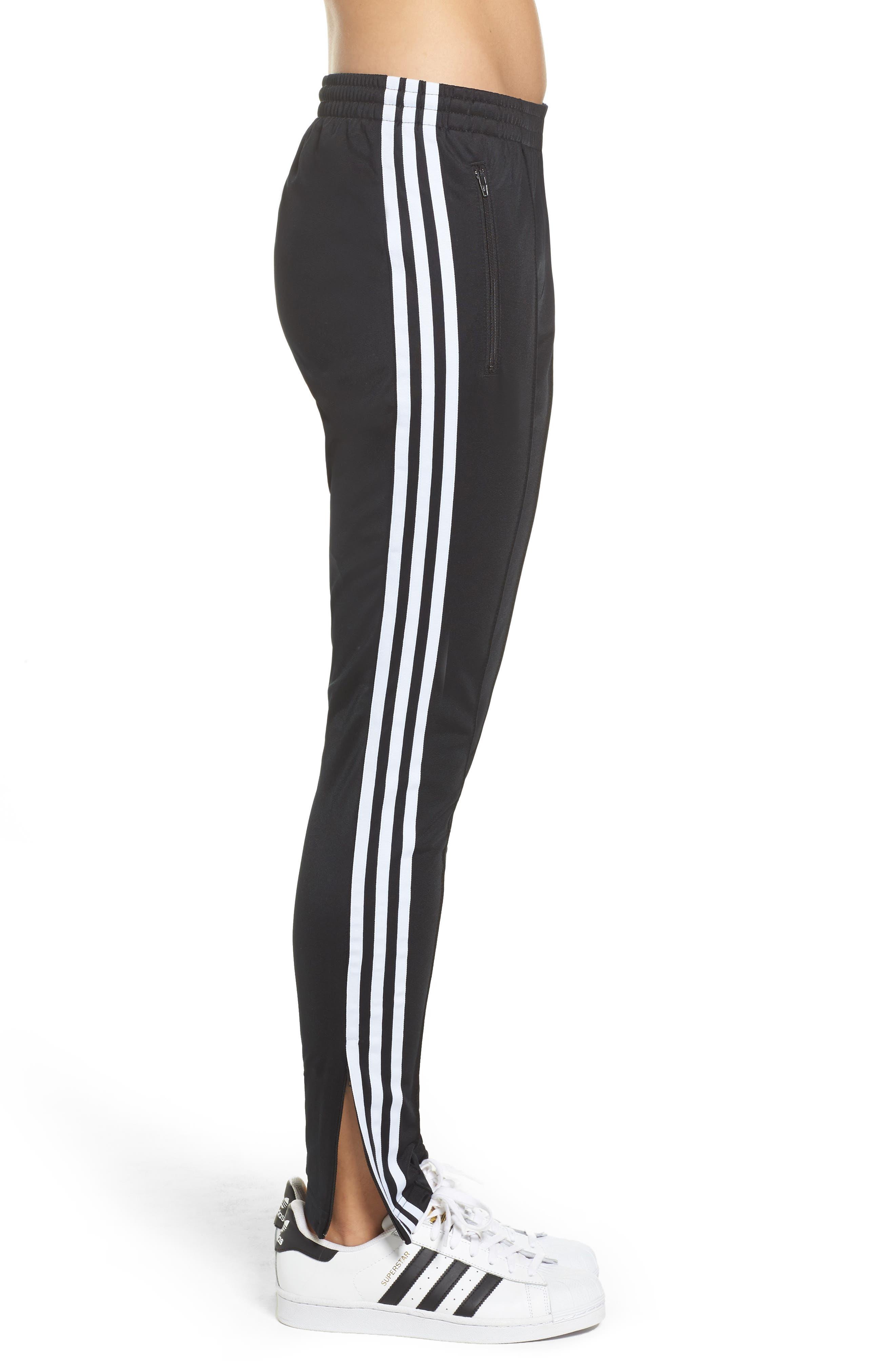 Originals Superstar Track Pants,                             Alternate thumbnail 3, color,                             Black