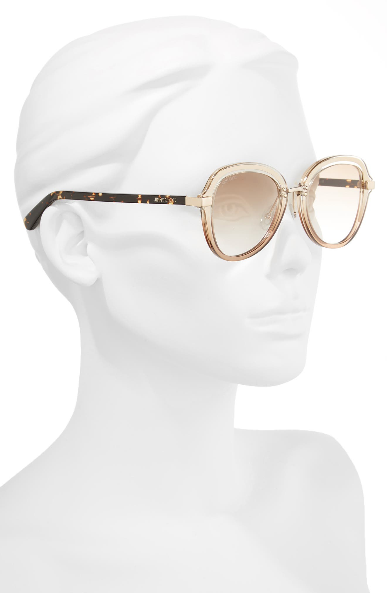 Alternate Image 2  - Jimmy Choo Drees 51mm Gradient Sunglasses