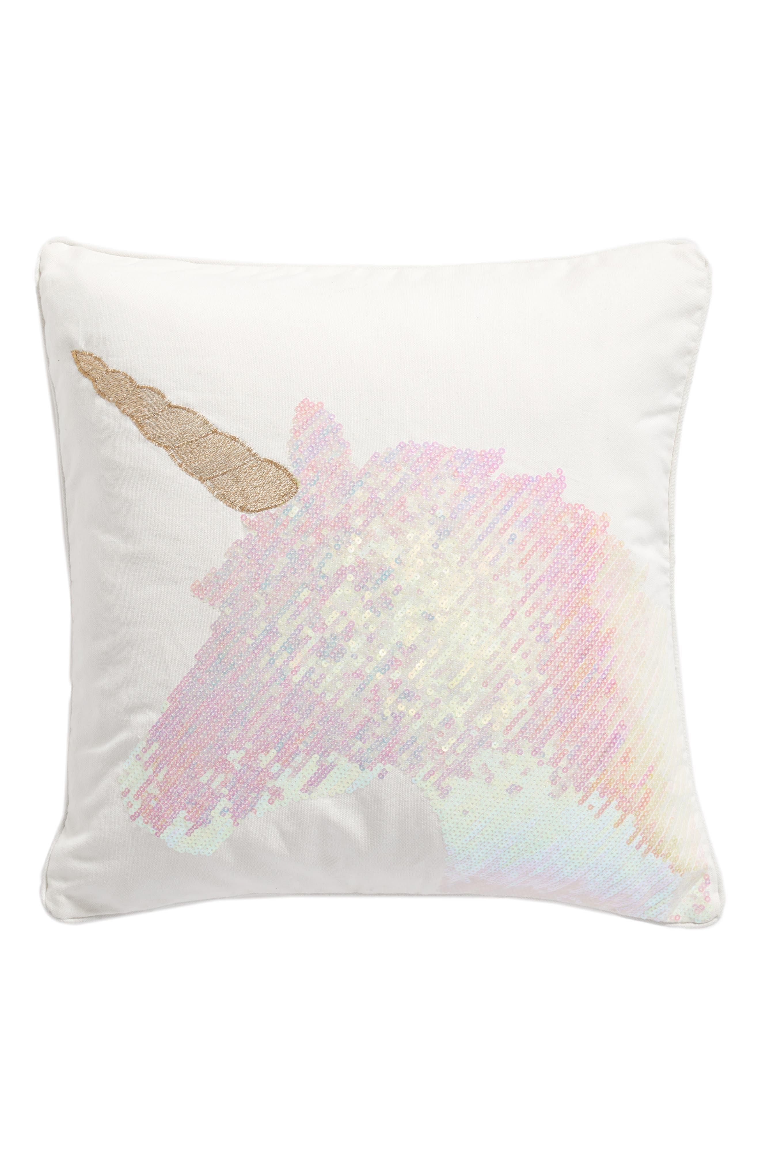 Levtex Unicorn Sequin Pillow