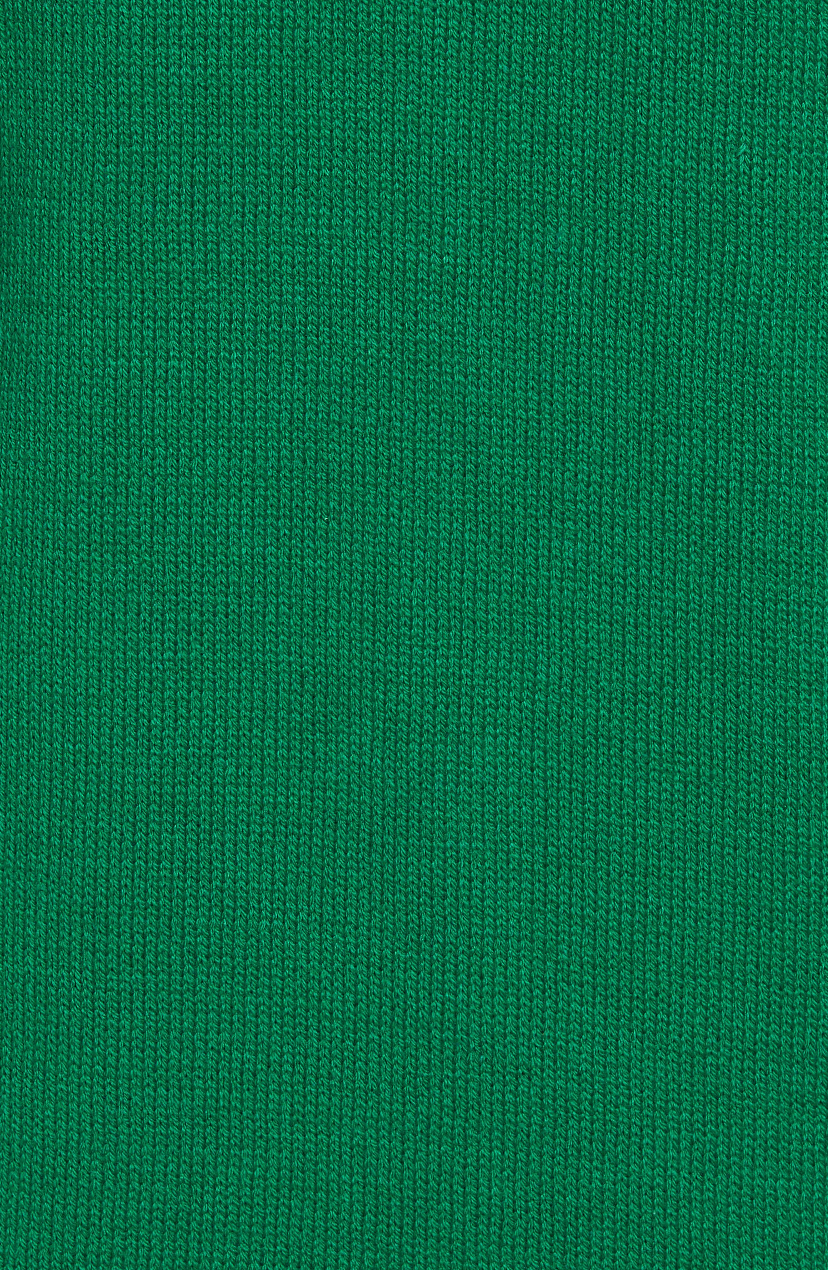 Santa Hoodie Sweater,                             Alternate thumbnail 5, color,                             Green Santa
