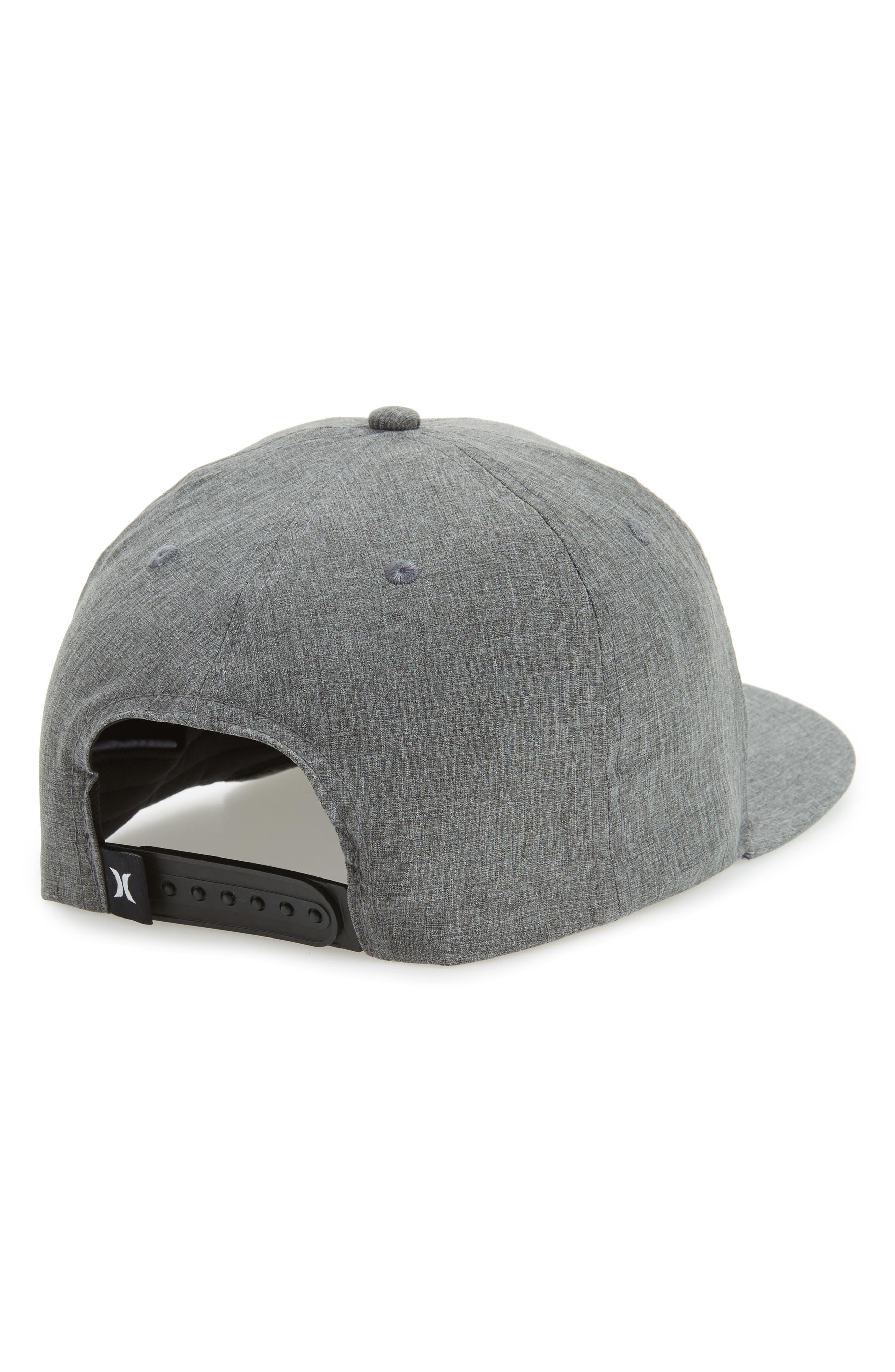 Alternate Image 2  - Hurley Phantom One & Only Snapback Baseball Cap