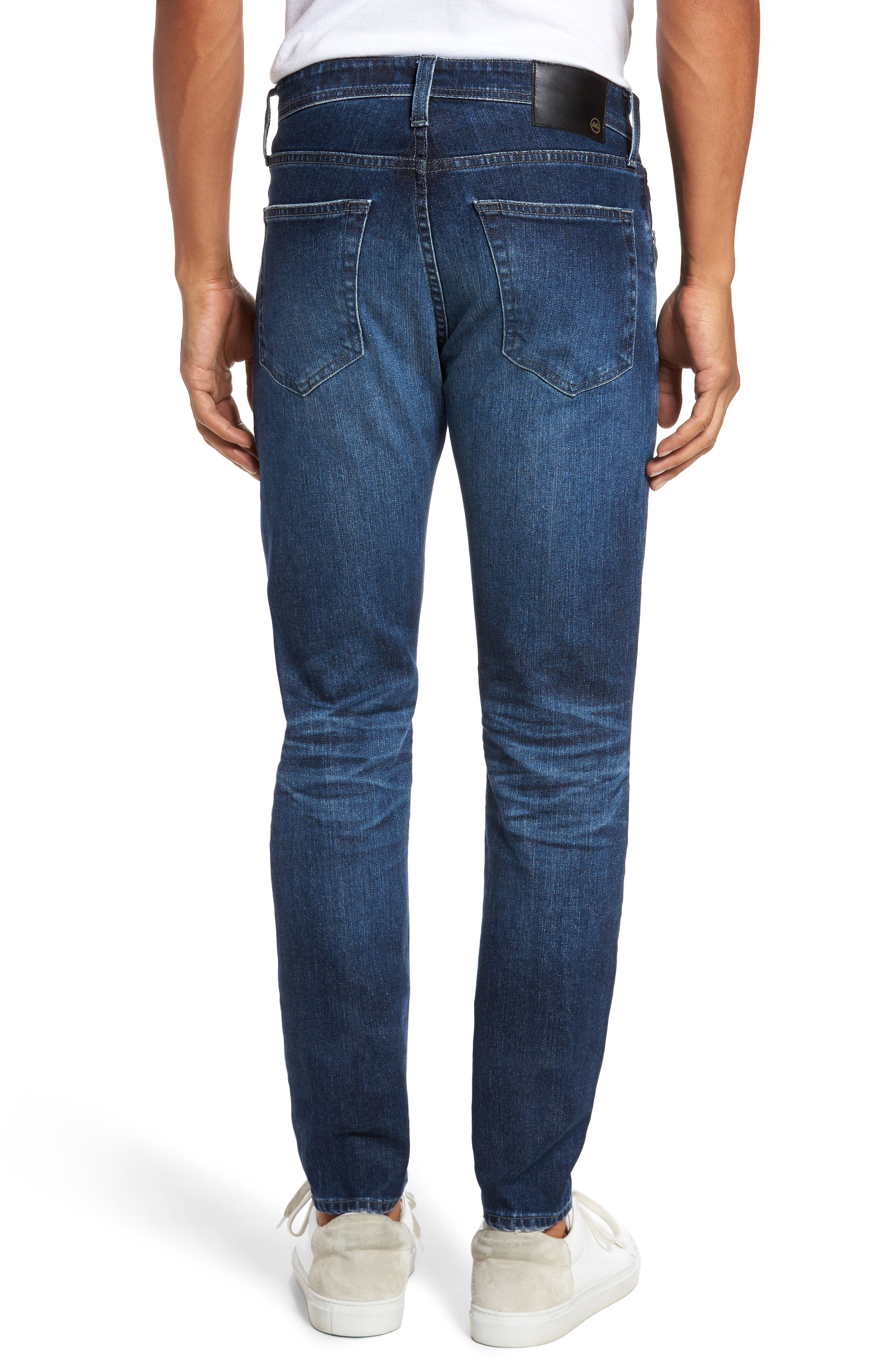 Stockton Skinny Fit Jeans,                             Alternate thumbnail 2, color,                             7 Years Blue Spire