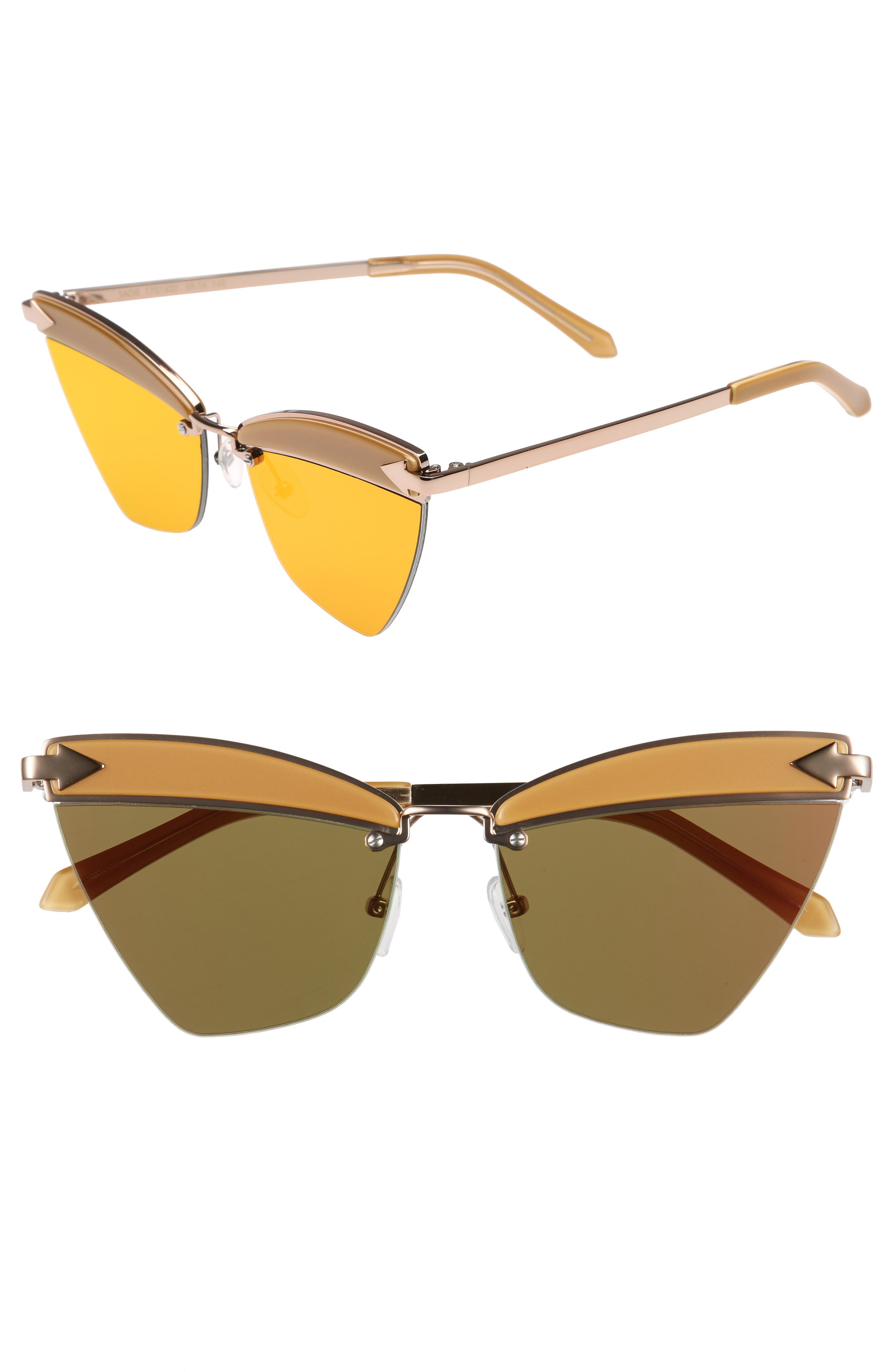Karen Walker Sadie 59mm Sunglasses