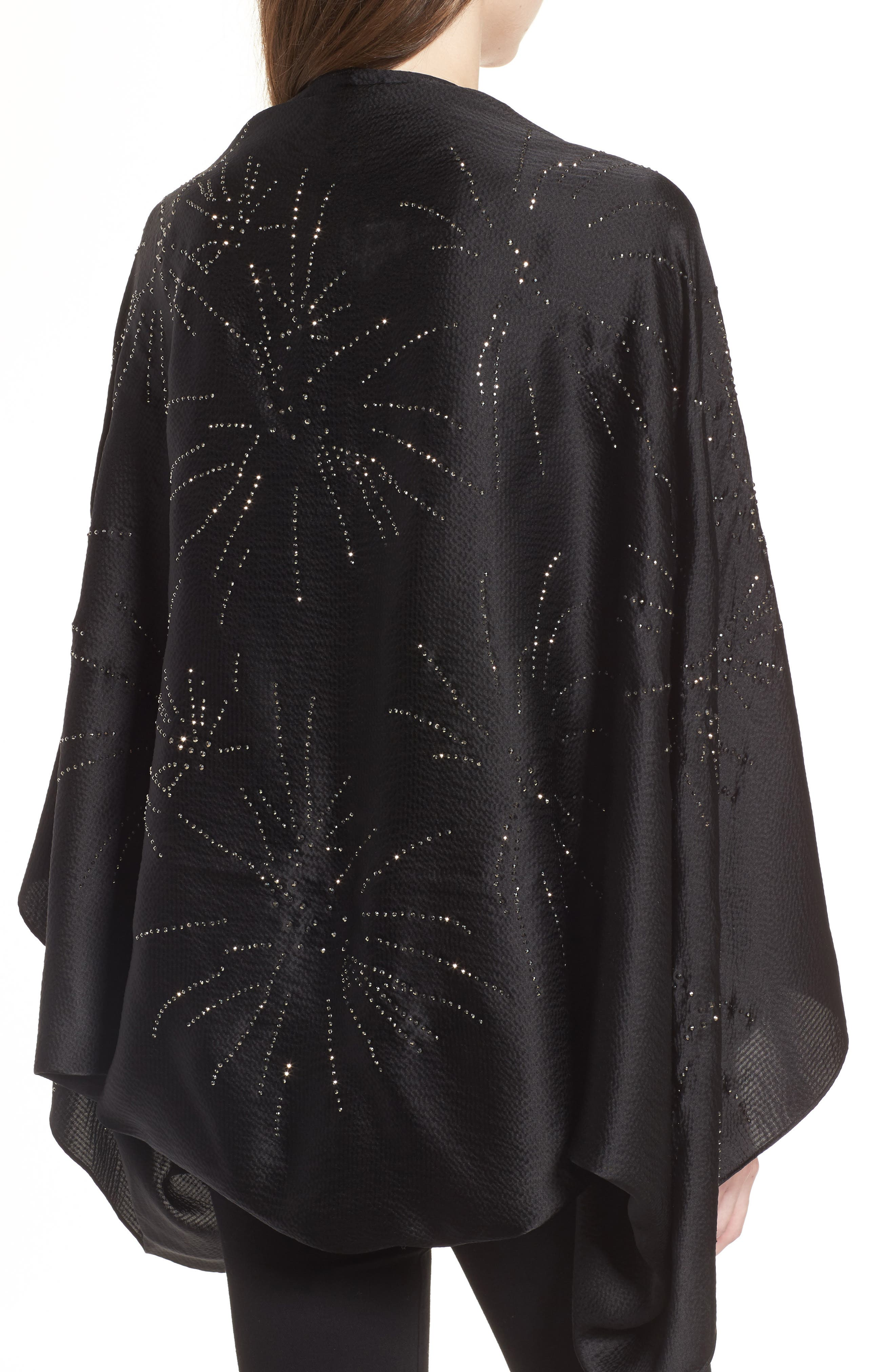 Alternate Image 2  - Ted Baker London Stardust Silk Cape Scarf
