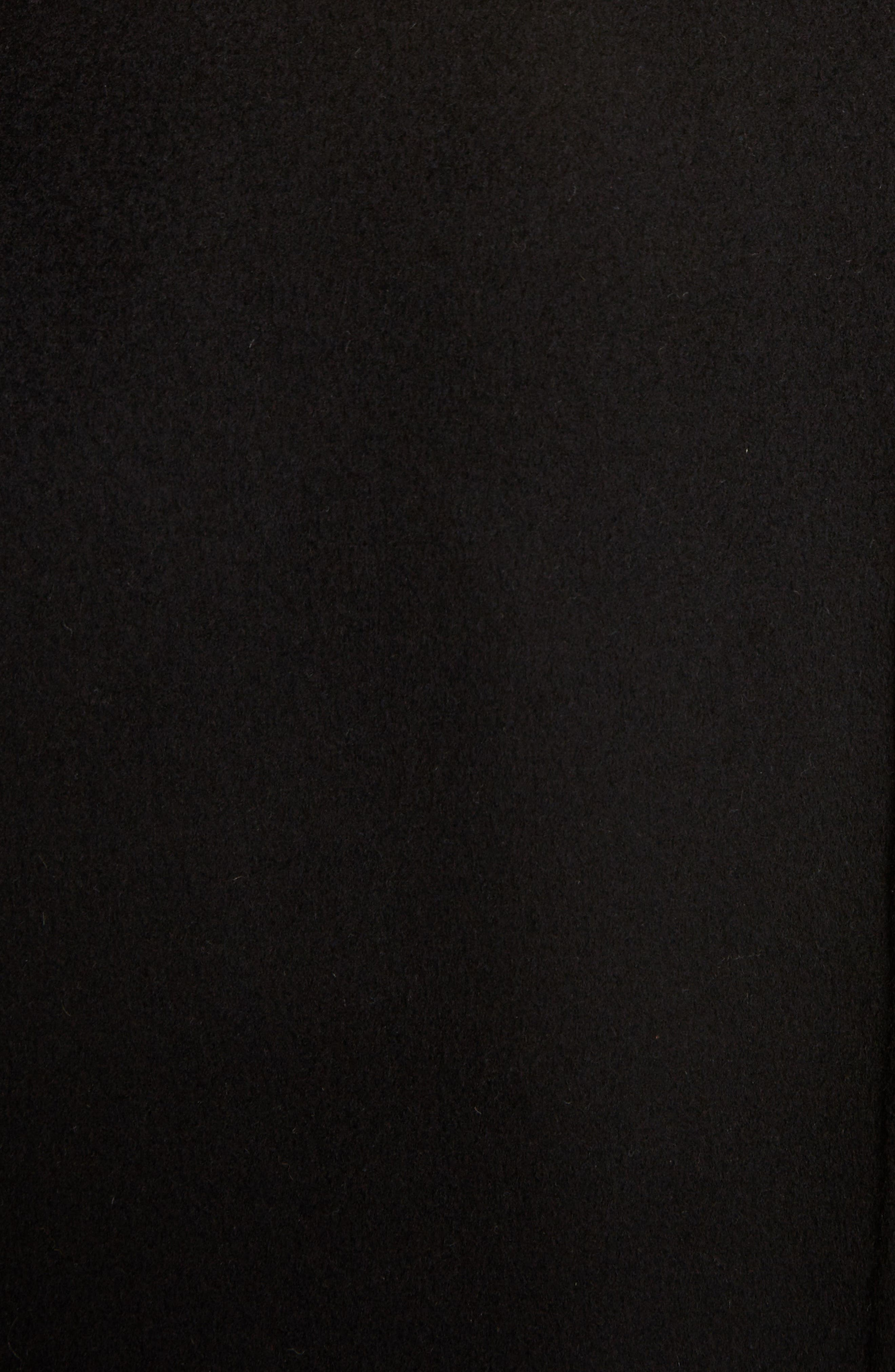 Avalon Wool & Cashmere Coat,                             Alternate thumbnail 5, color,                             Black