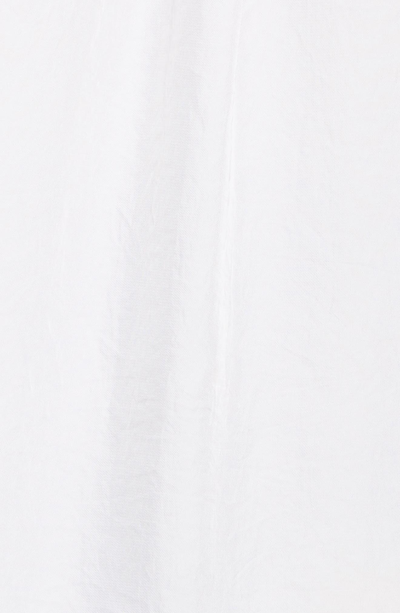 Twill Shirt,                             Alternate thumbnail 5, color,                             Star White