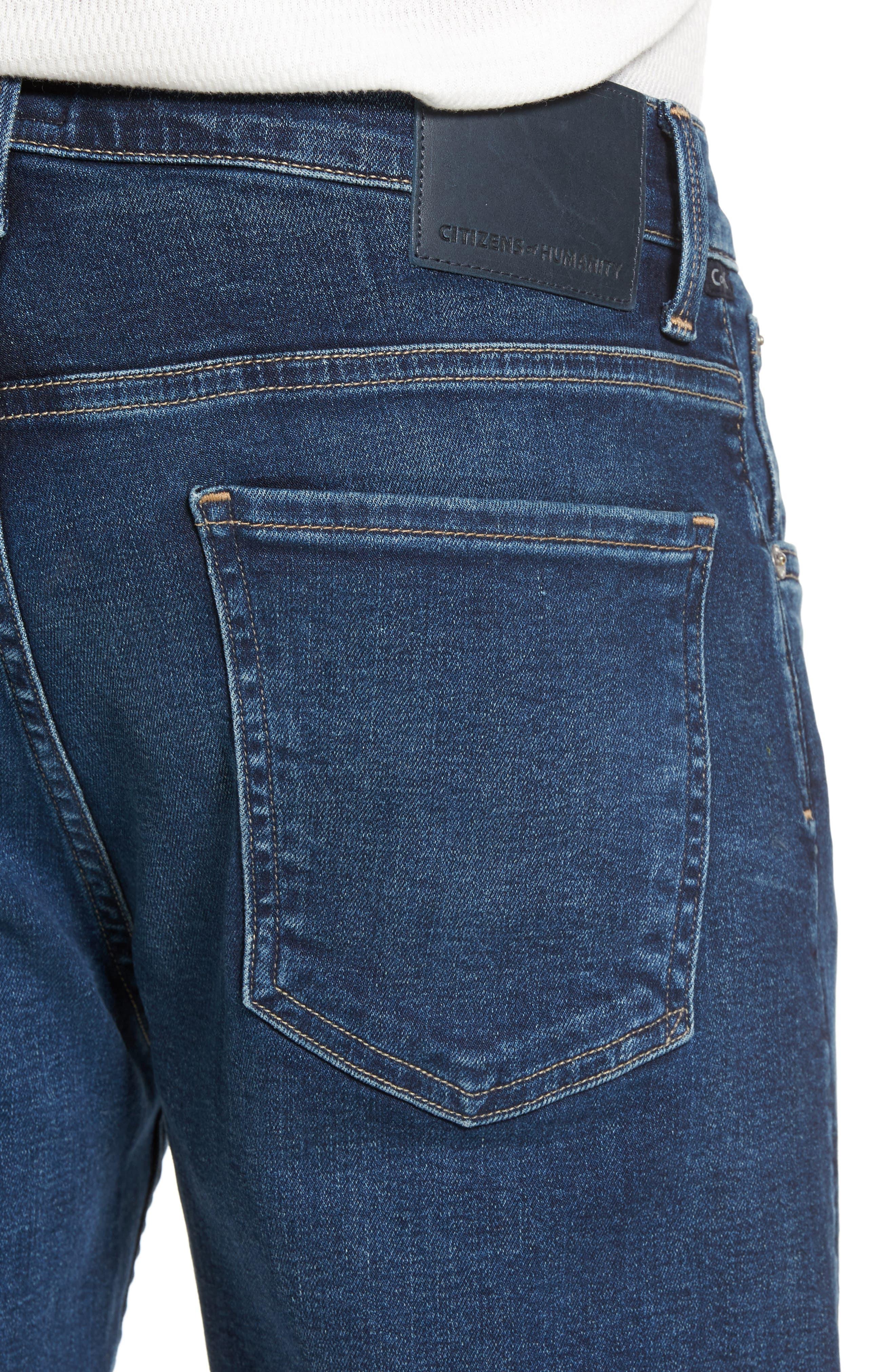 PERFORM - Gage Slim Straight Leg Jeans,                             Alternate thumbnail 4, color,                             Turner