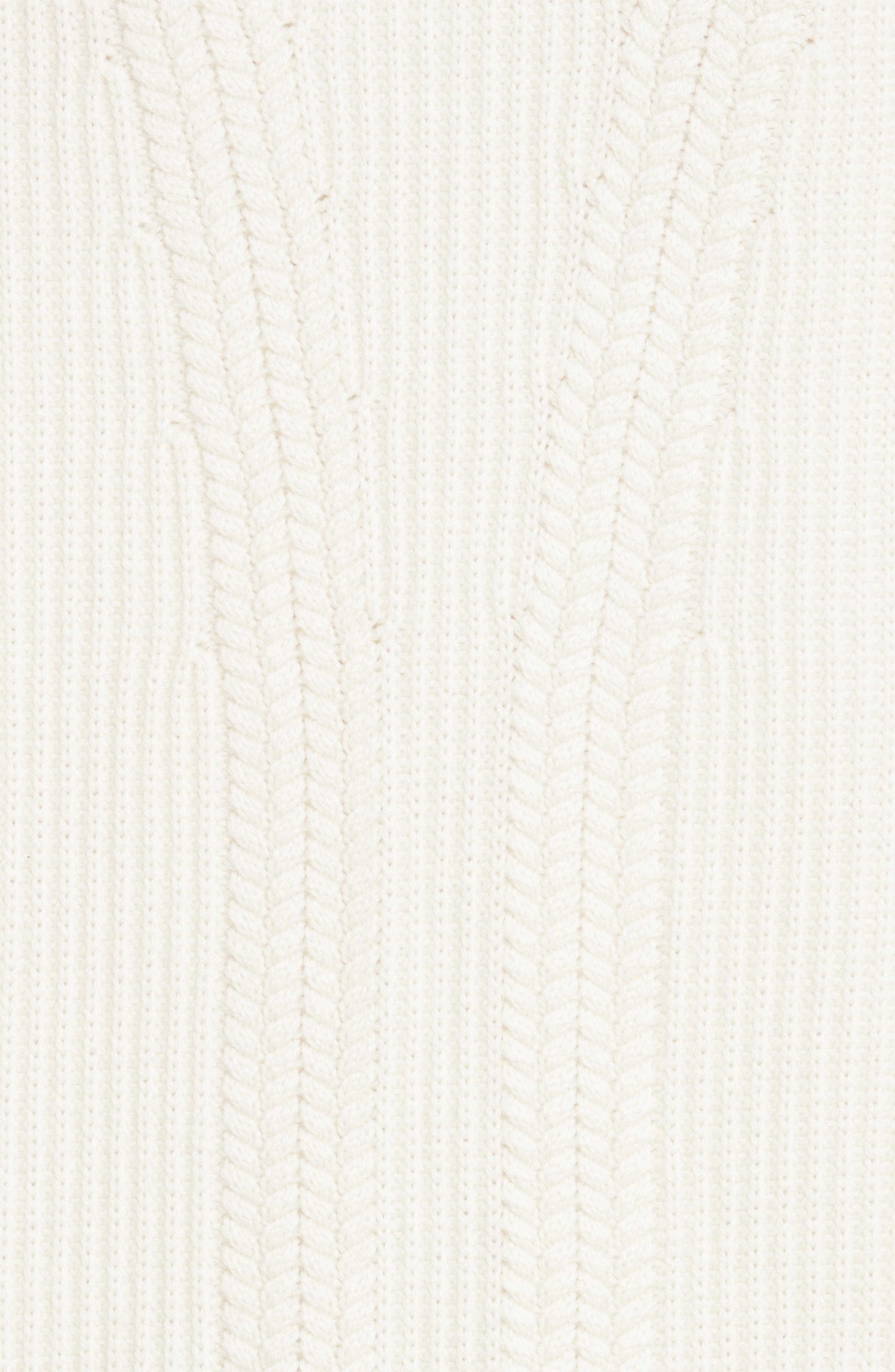 Santerno Wool & Cashmere Cable Knit Sweater,                             Alternate thumbnail 5, color,                             Natural White