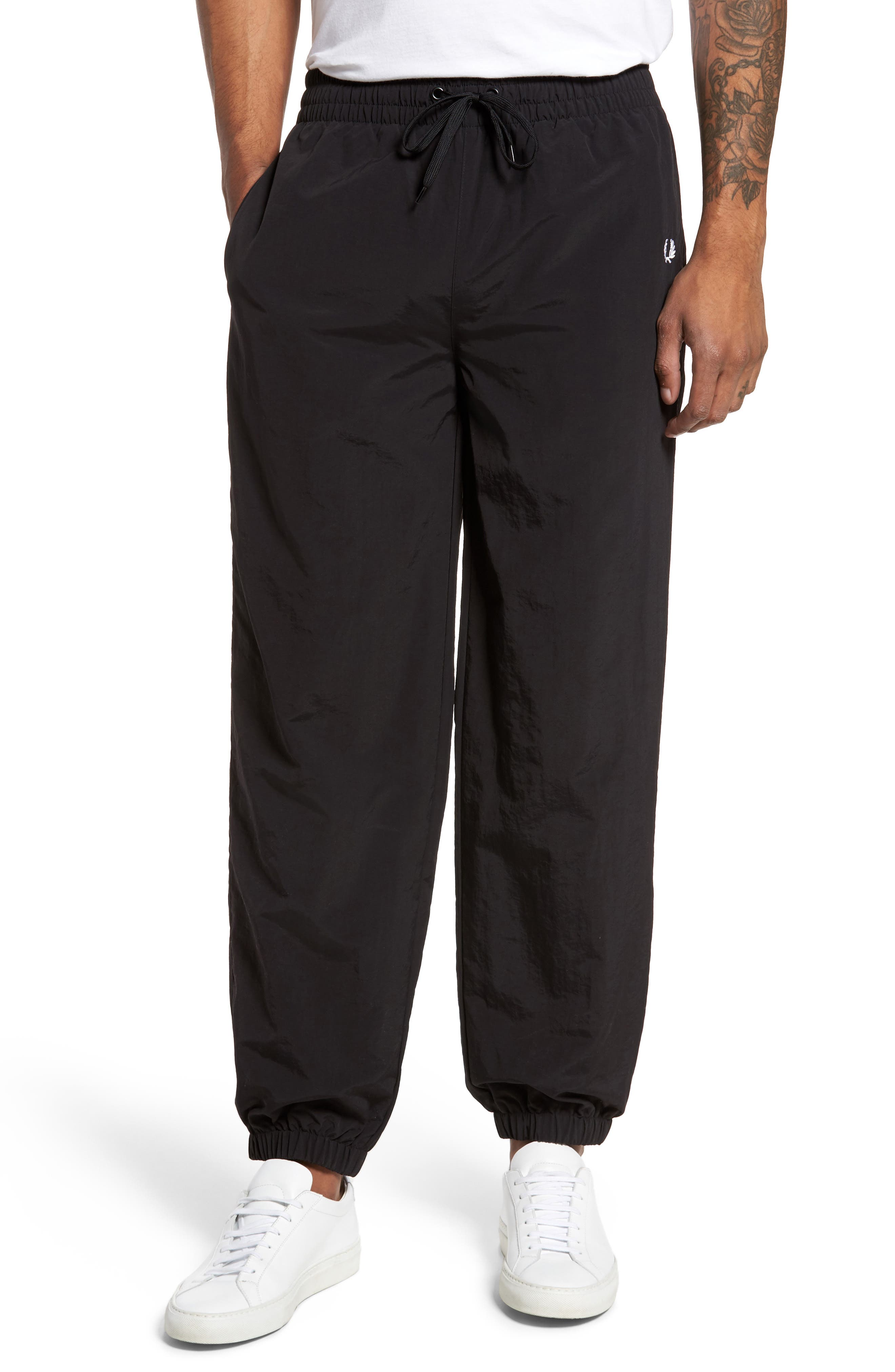 Alternate Image 1 Selected - Fred Perry Monochrome Tennis Pants