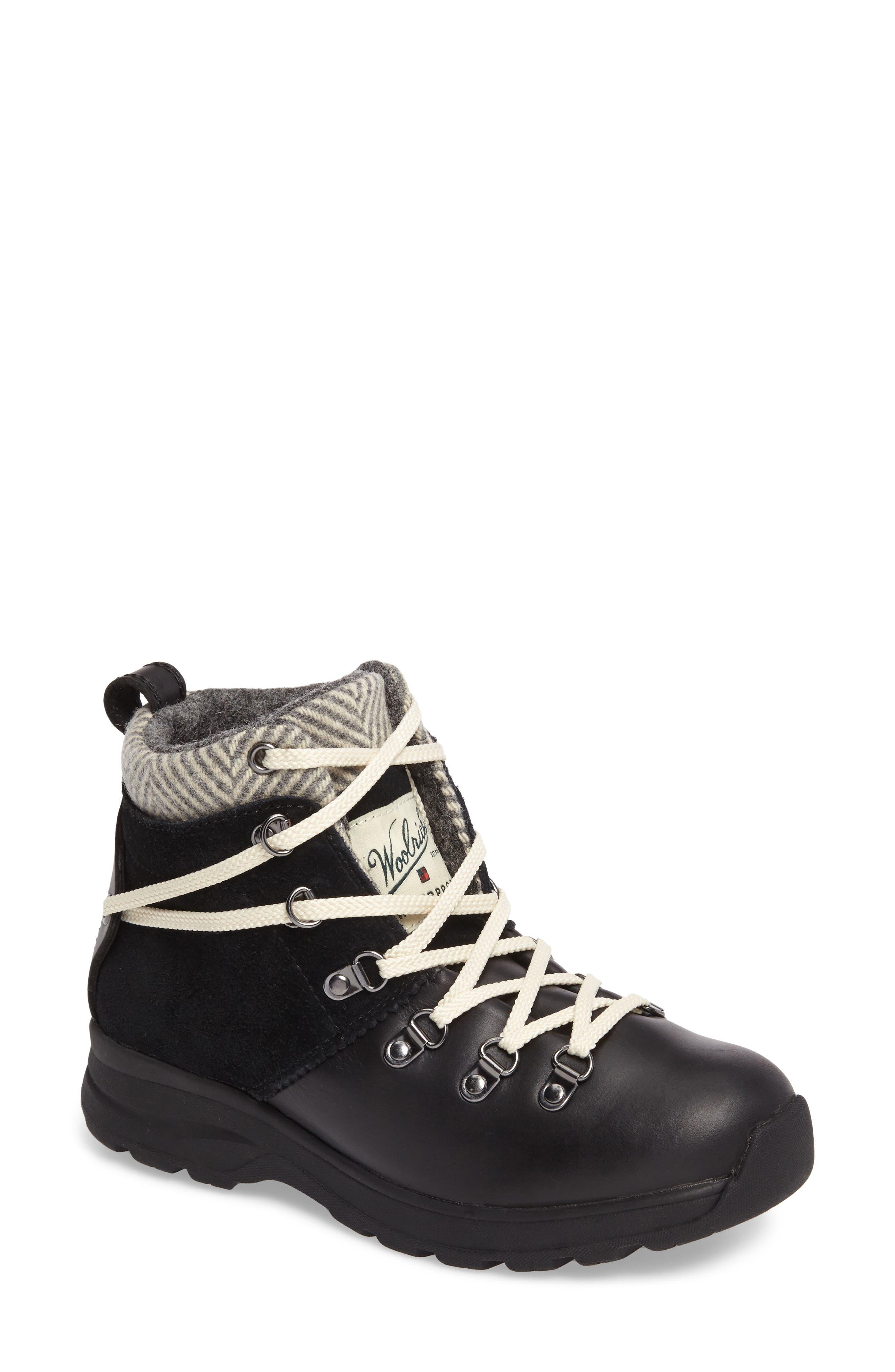 Alternate Image 1 Selected - Woolrich Rockies II Waterproof Hiking Boot (Women)
