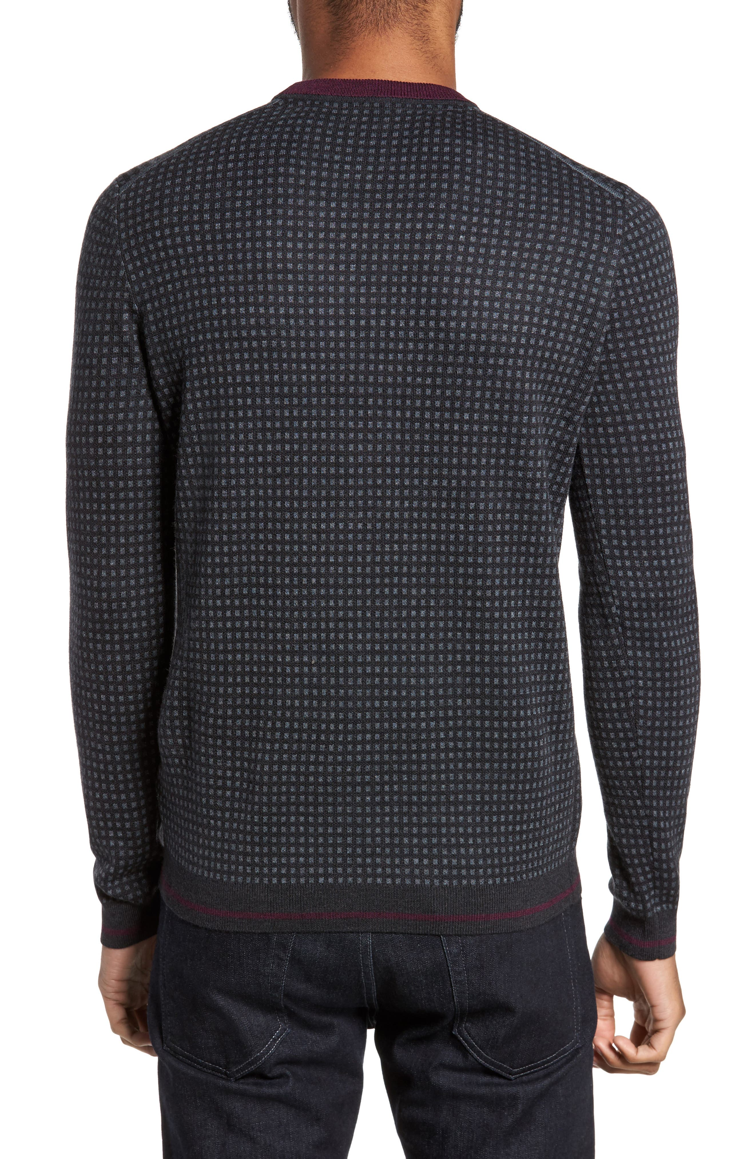 Alternate Image 2  - Ted Baker London Parvine Crewneck Sweater