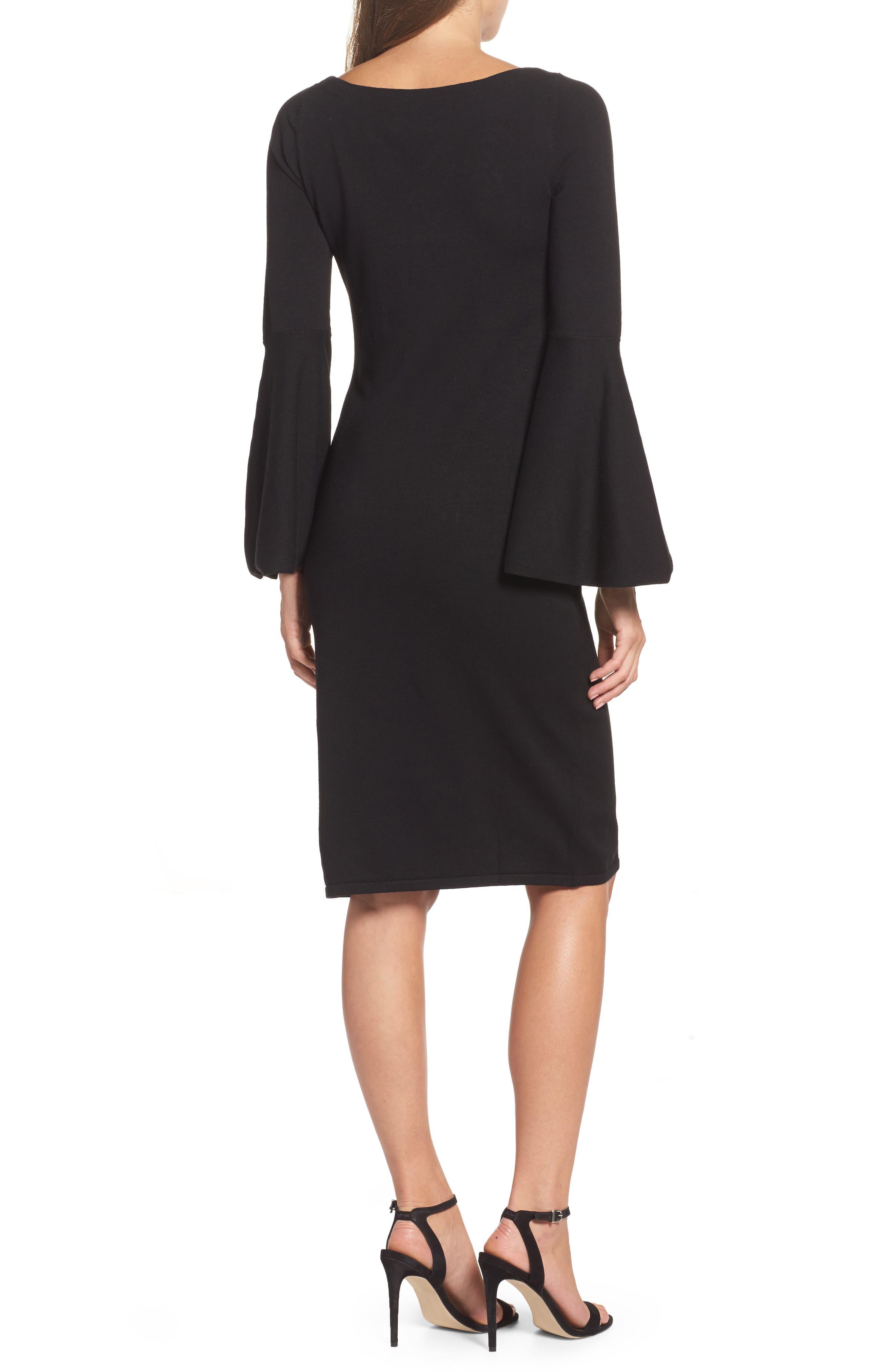 Alternate Image 2  - Eliza J Bell Sleeve Dress