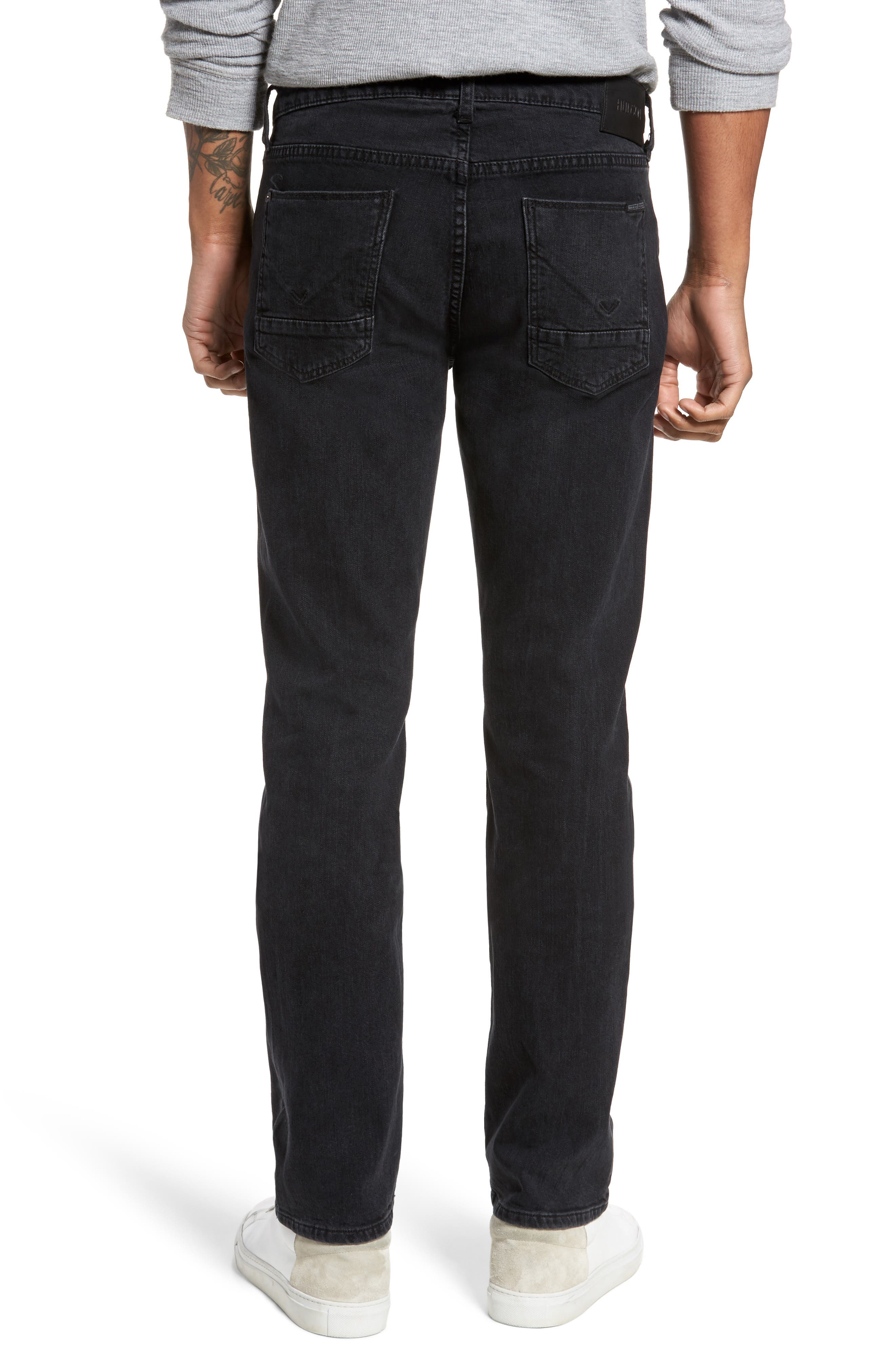 Alternate Image 2  - Hudson Jeans Byron Slim Straight Fit Jeans (Unmarked)