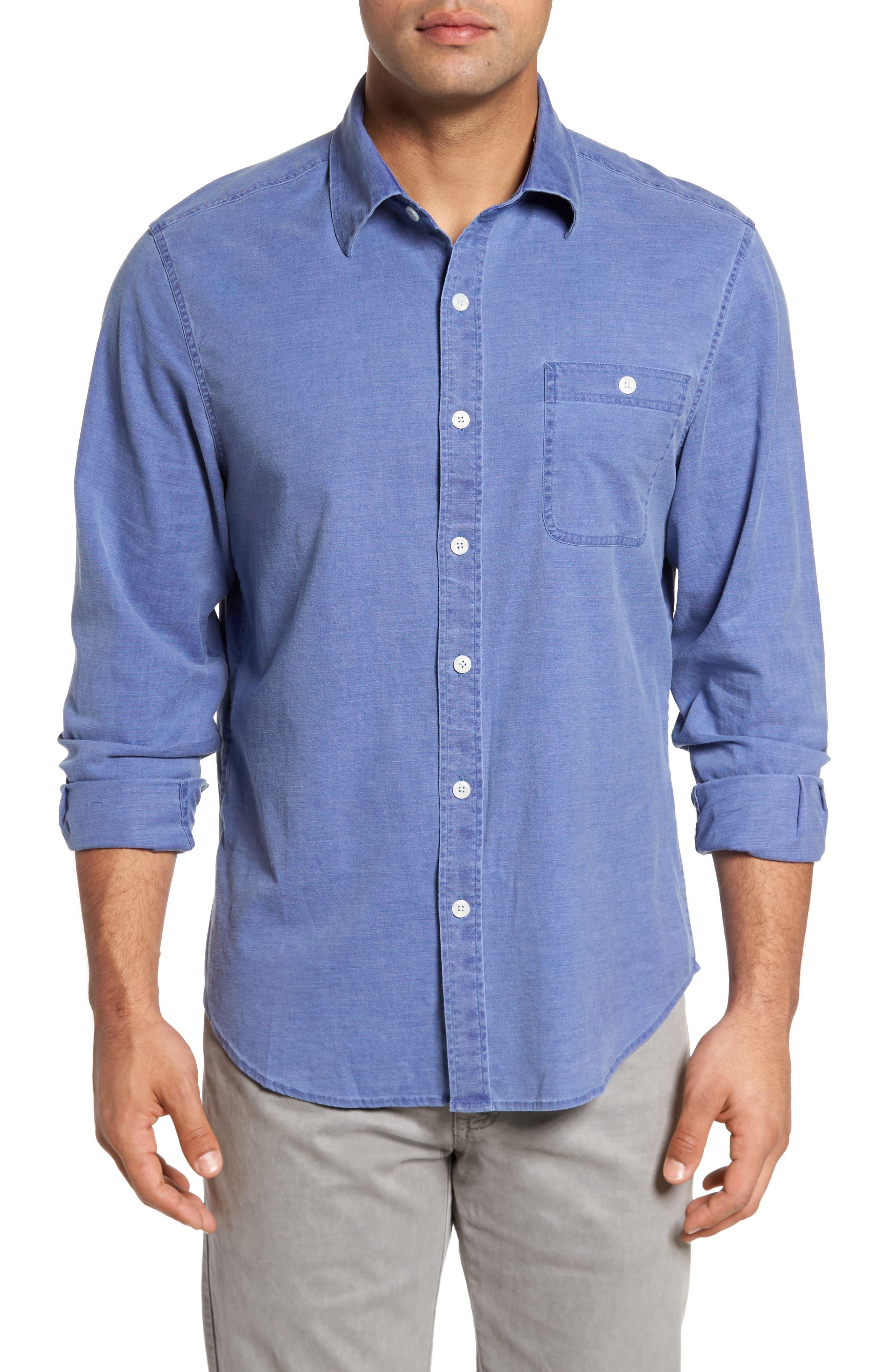 Four Seasons Sport Shirt,                         Main,                         color, Midnight