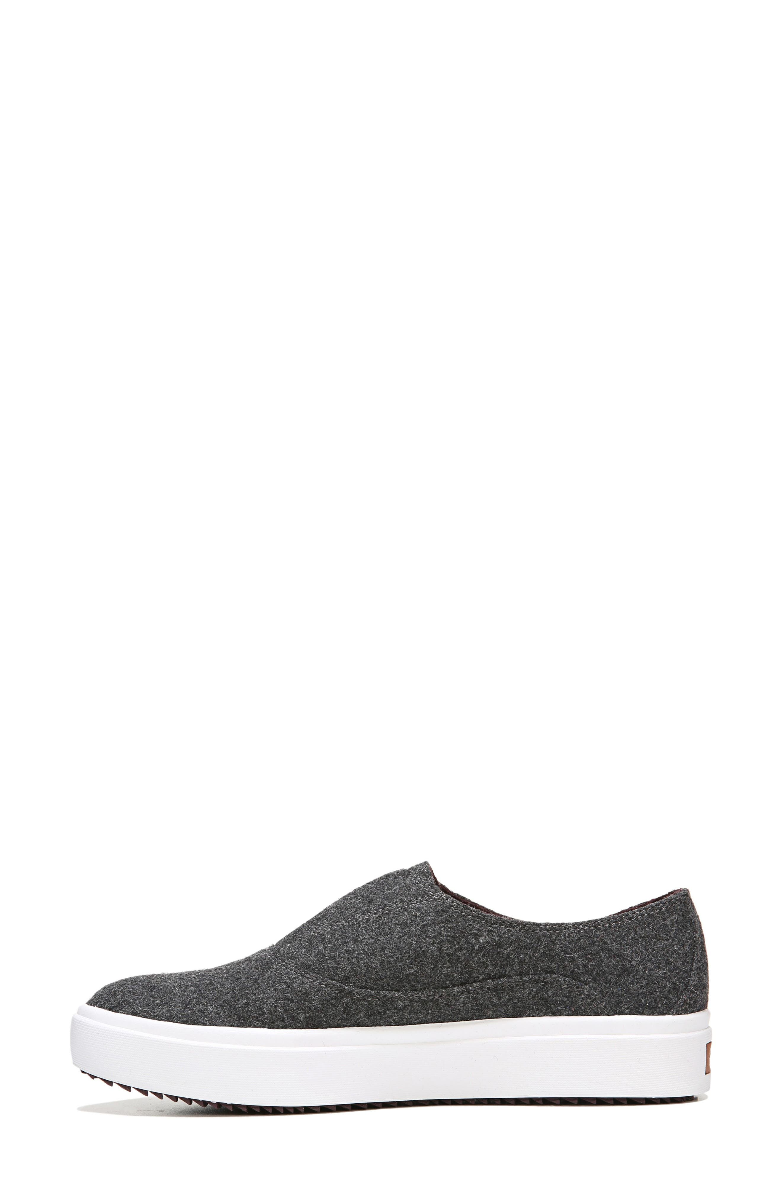Brey Slip-On Sneaker,                             Alternate thumbnail 2, color,                             Charcoal Fabric