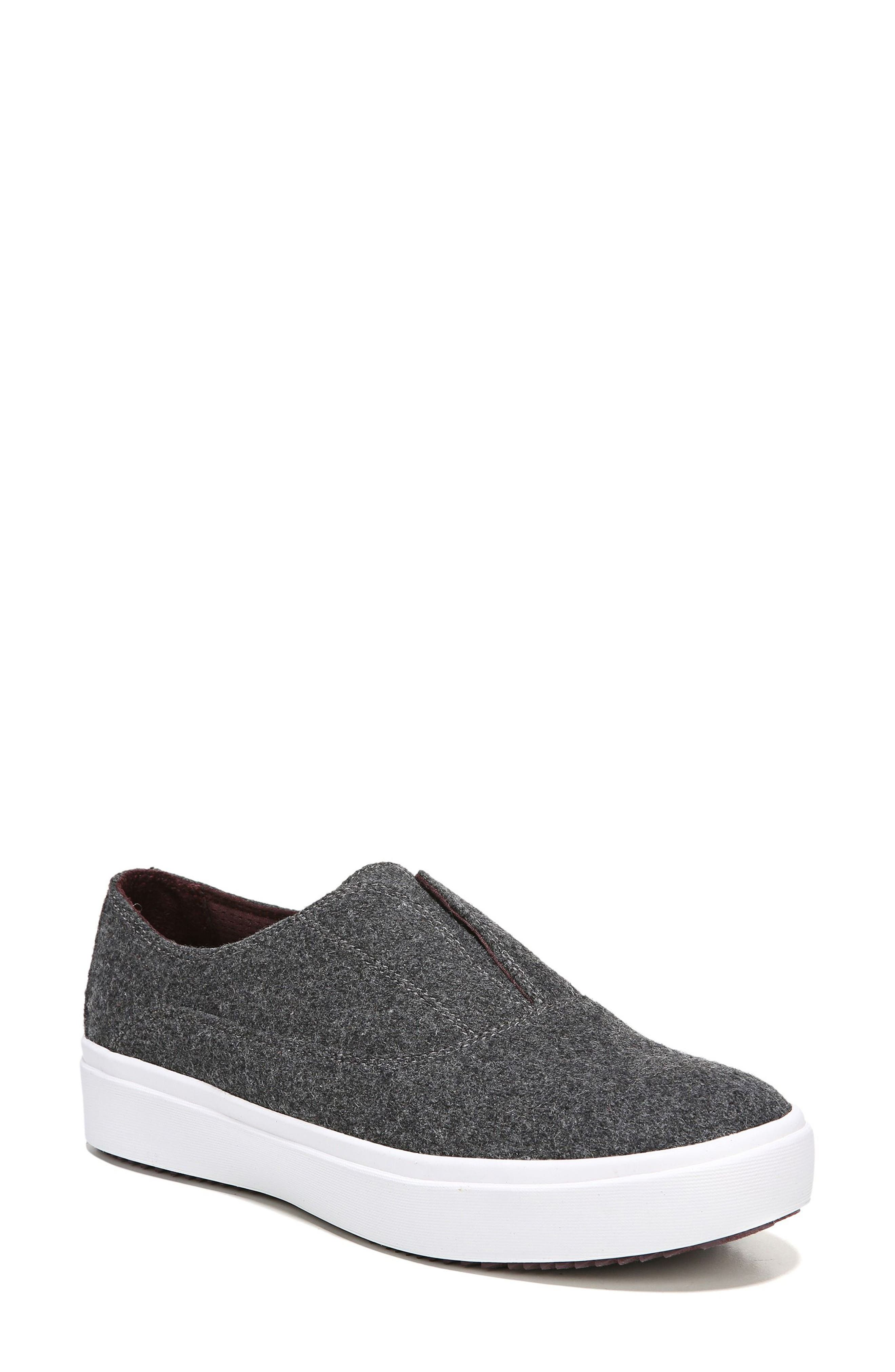 Brey Slip-On Sneaker,                         Main,                         color, Charcoal Fabric