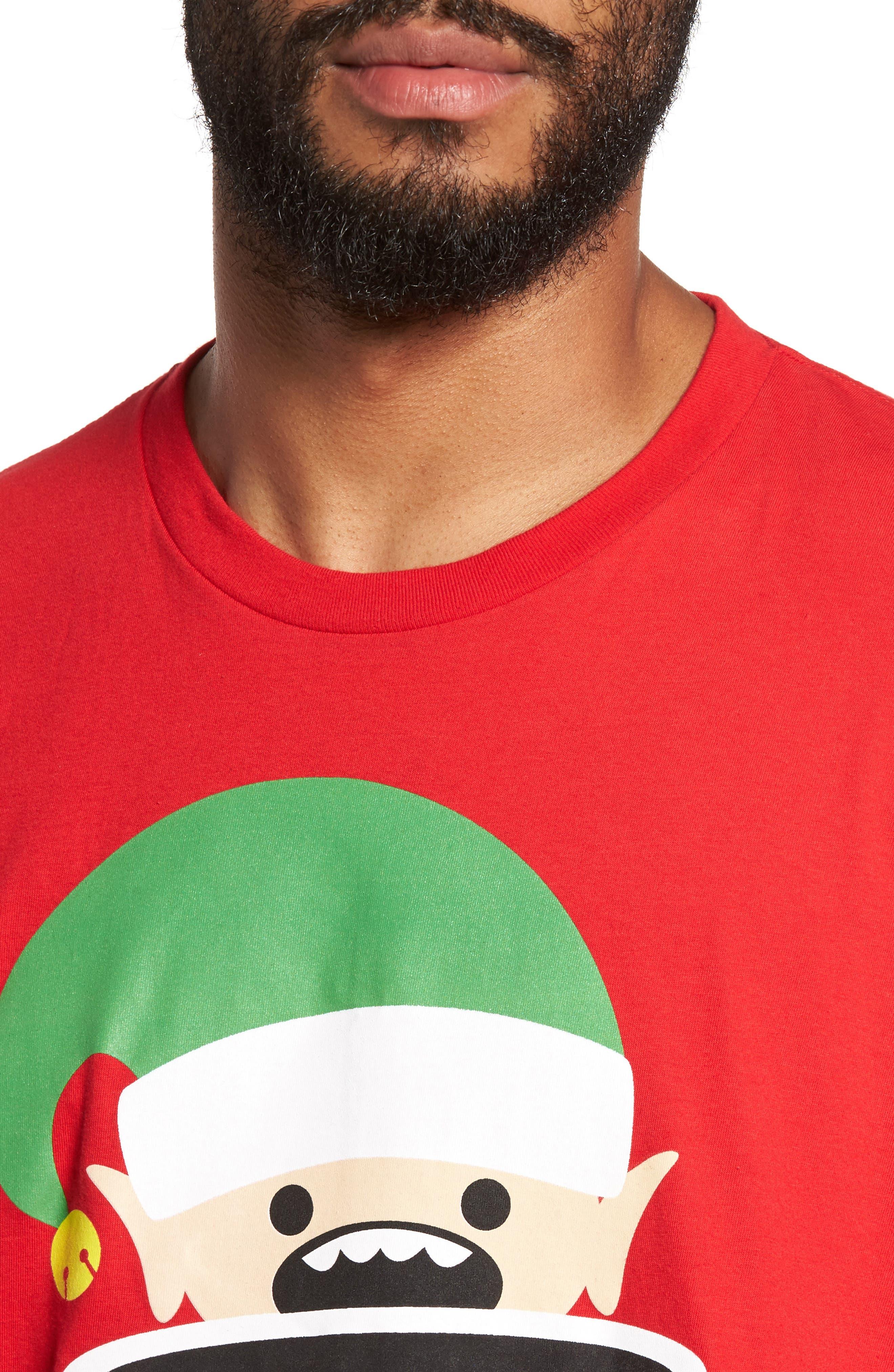 Stay Woke T-Shirt,                             Alternate thumbnail 4, color,                             Red Stay Woke