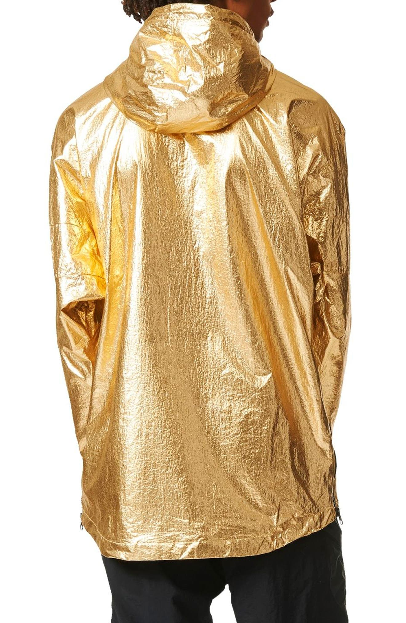 Originals Fontanka Hooded Jacket,                             Alternate thumbnail 2, color,                             Gold Met