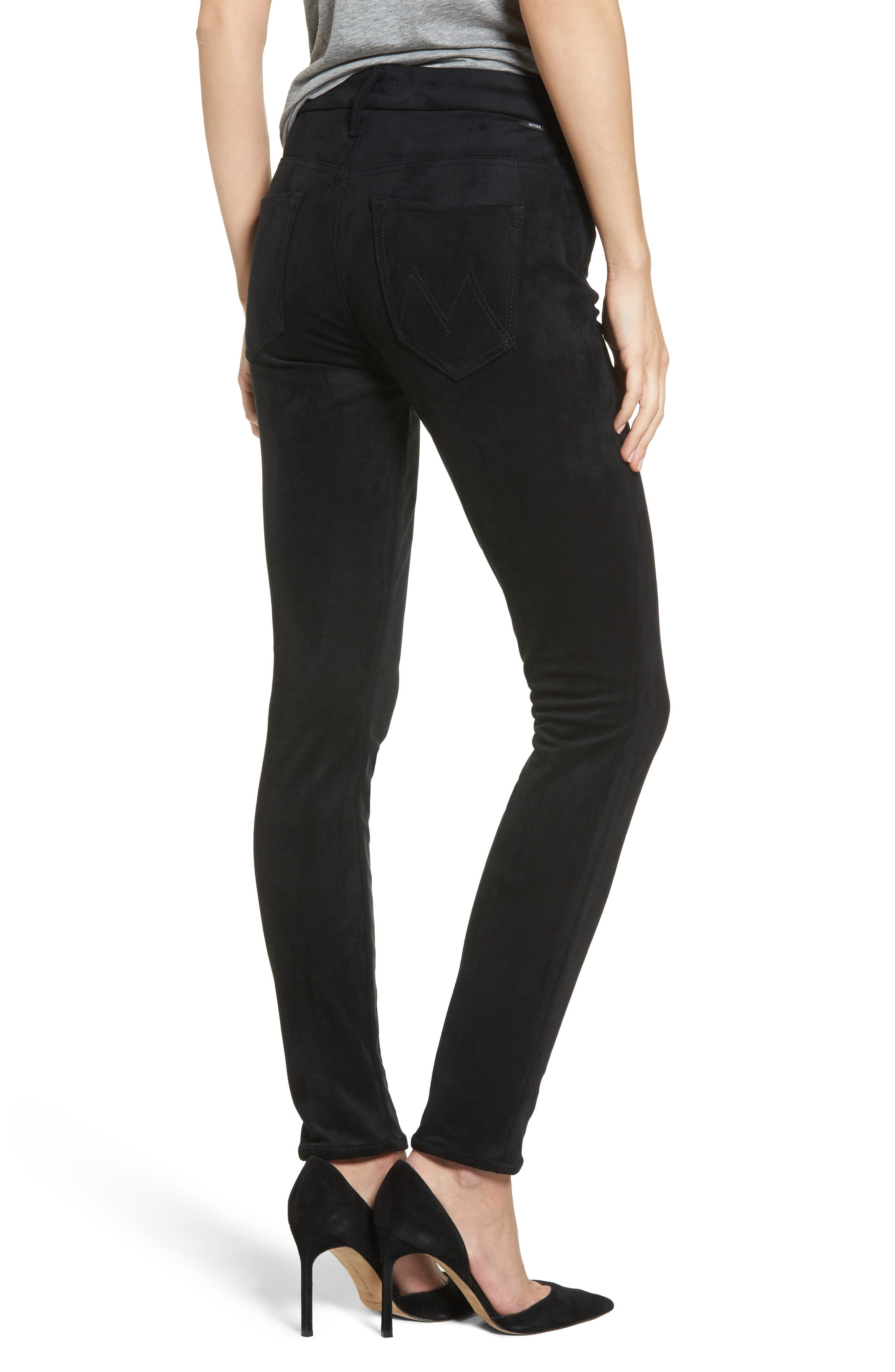 Alternate Image 2  - MOTHER The Looker High Waist Ankle Skinny Jeans (Tricks of the Trade)