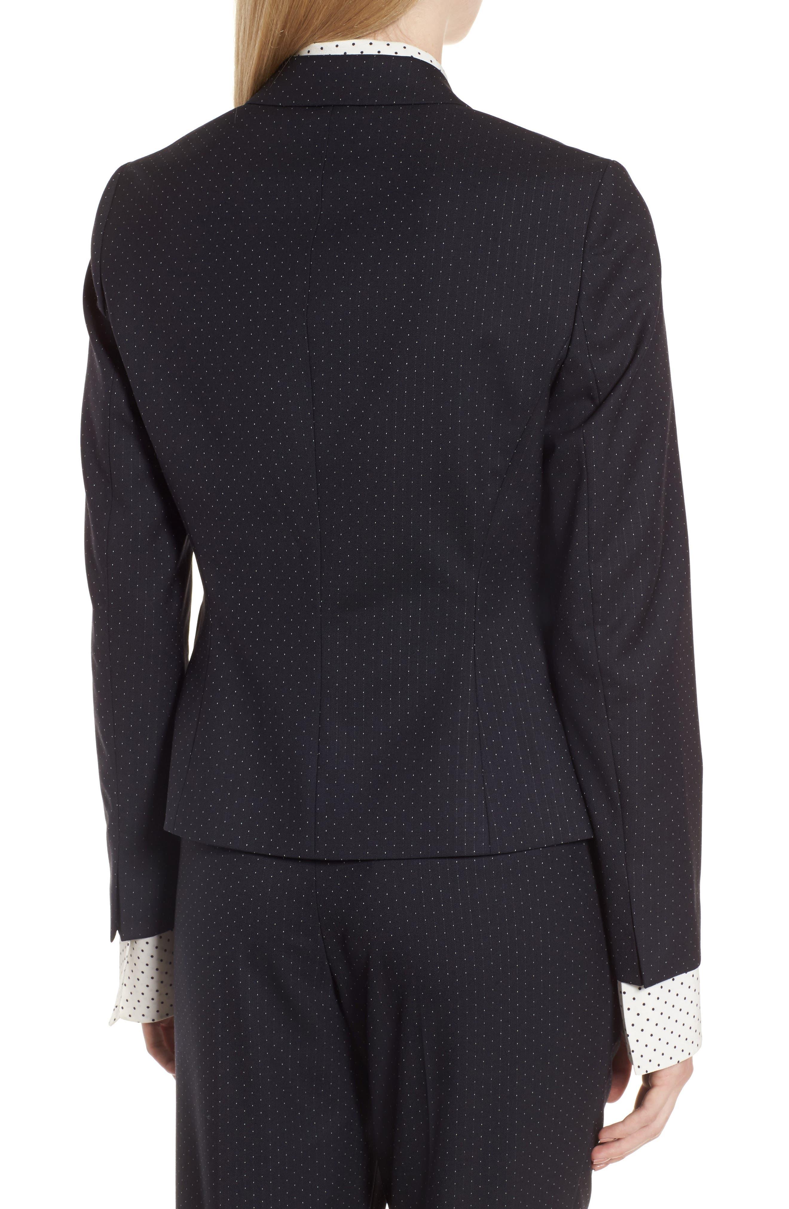 Alternate Image 2  - BOSS Jinalika Wool Suit Jacket