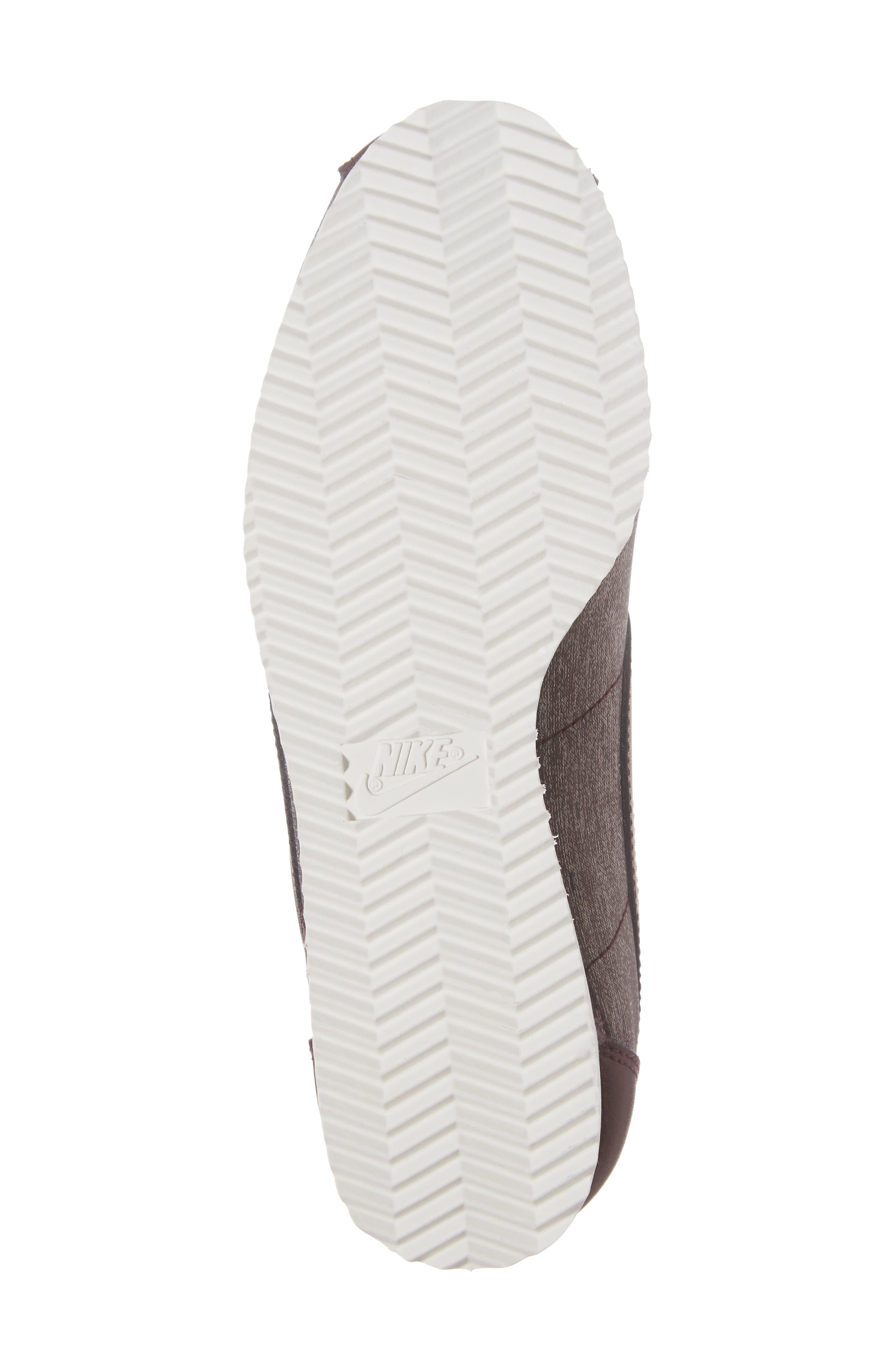 Classic Cortez Premium XLV Sneaker,                             Alternate thumbnail 5, color,                             Mahogany/ Mahogany/ White
