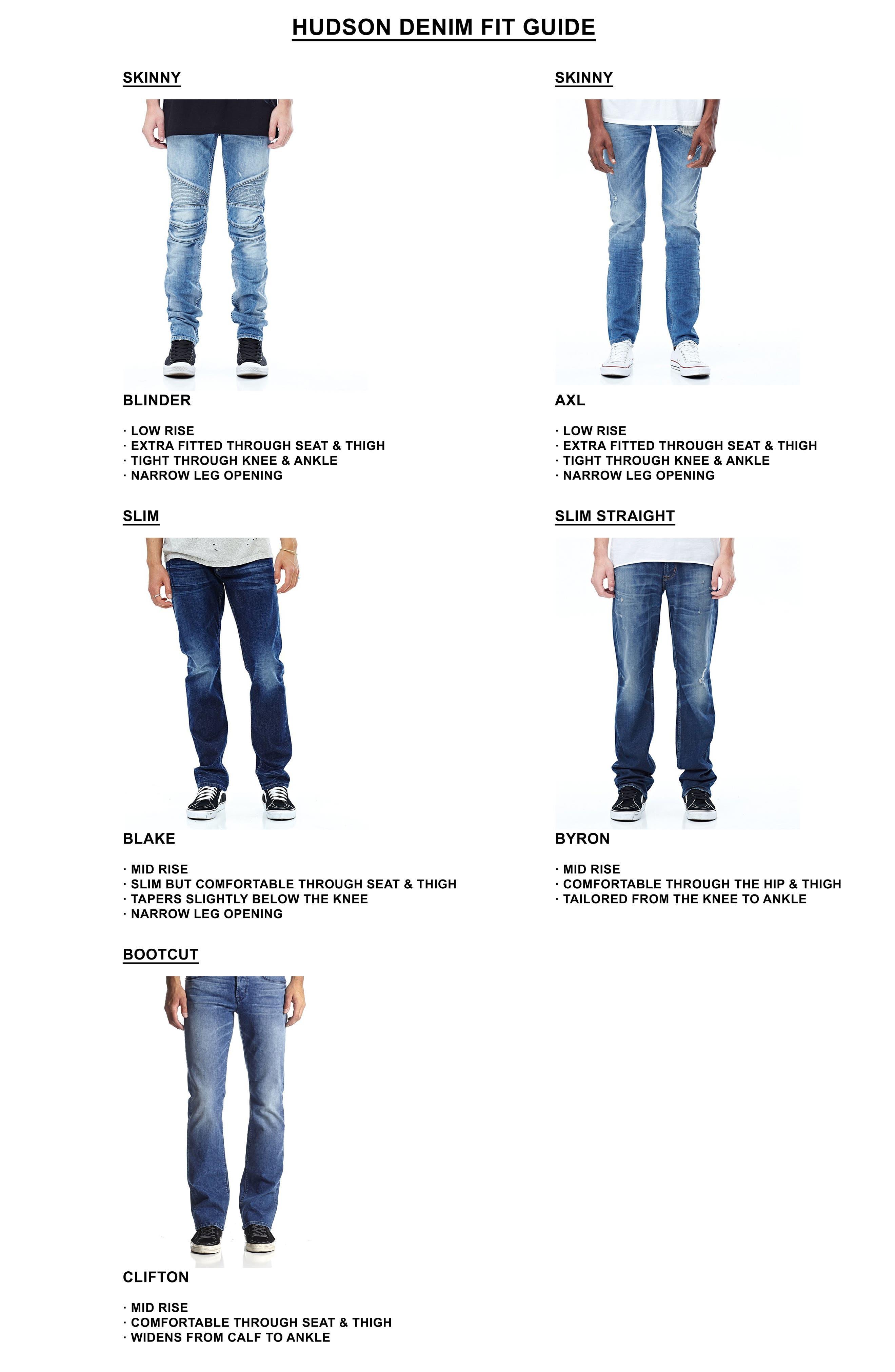 Alternate Image 7  - Hudson Jeans Vaughn Biker Skinny Fit Jeans (Gamble)