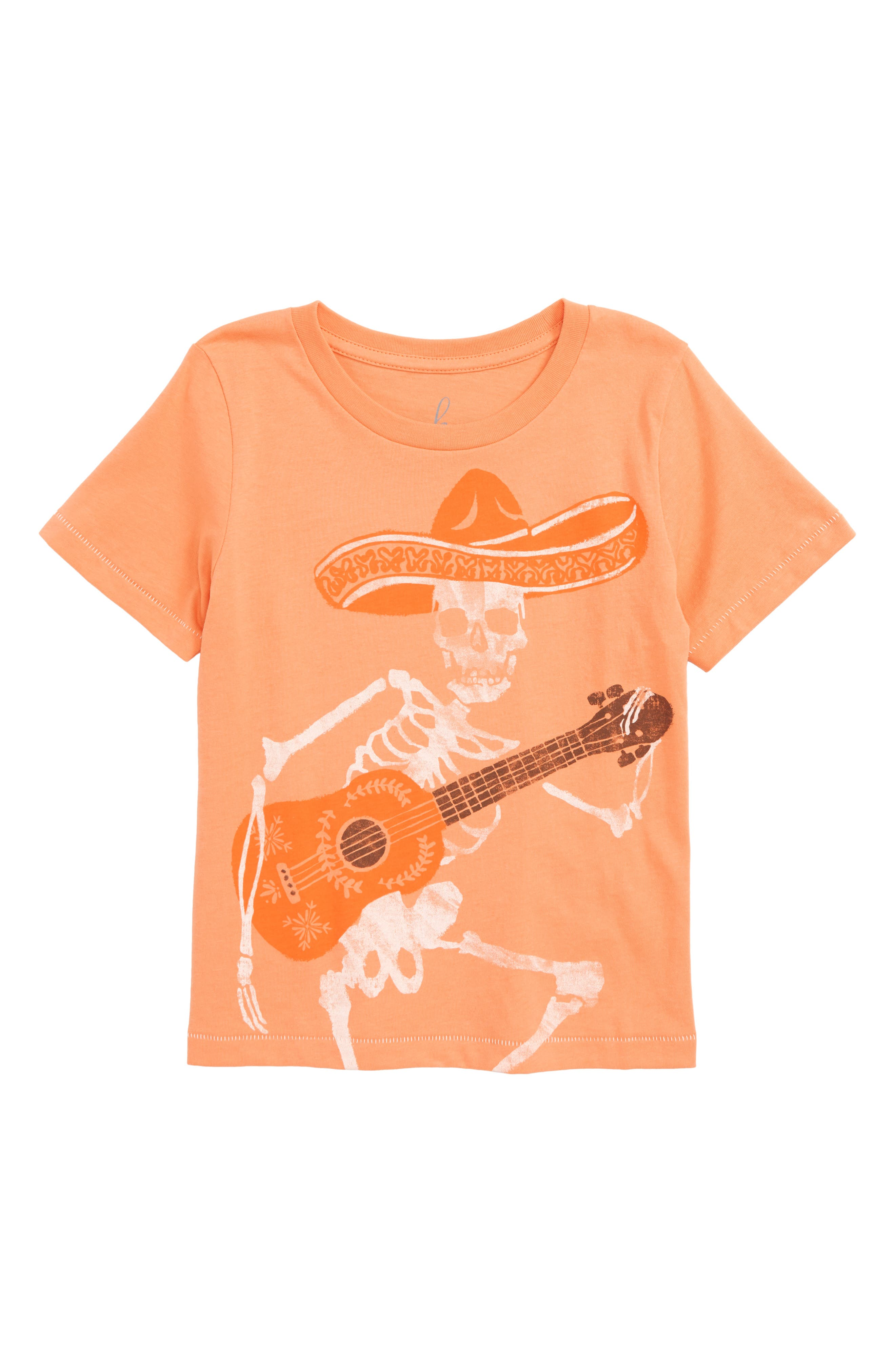 Fiesta and Siesta Graphic T-Shirt,                         Main,                         color, Orange