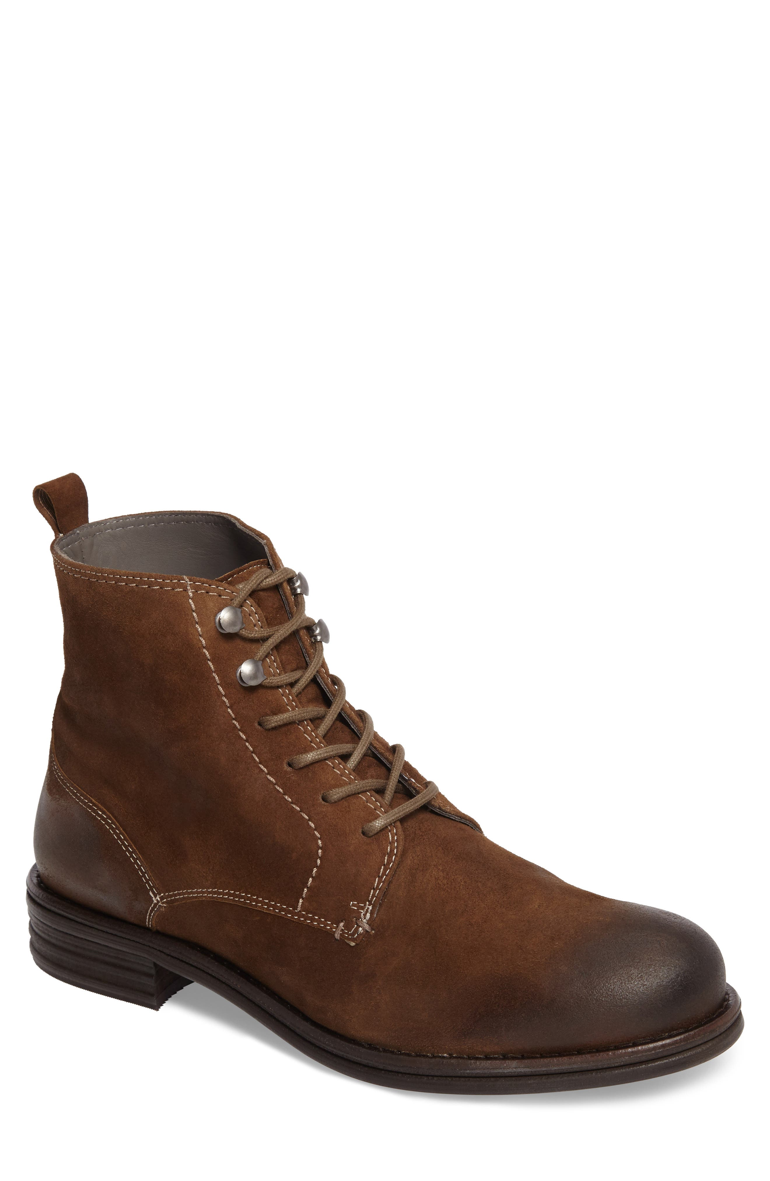 Cordie Plain Toe Boot,                         Main,                         color, Oliva Suede
