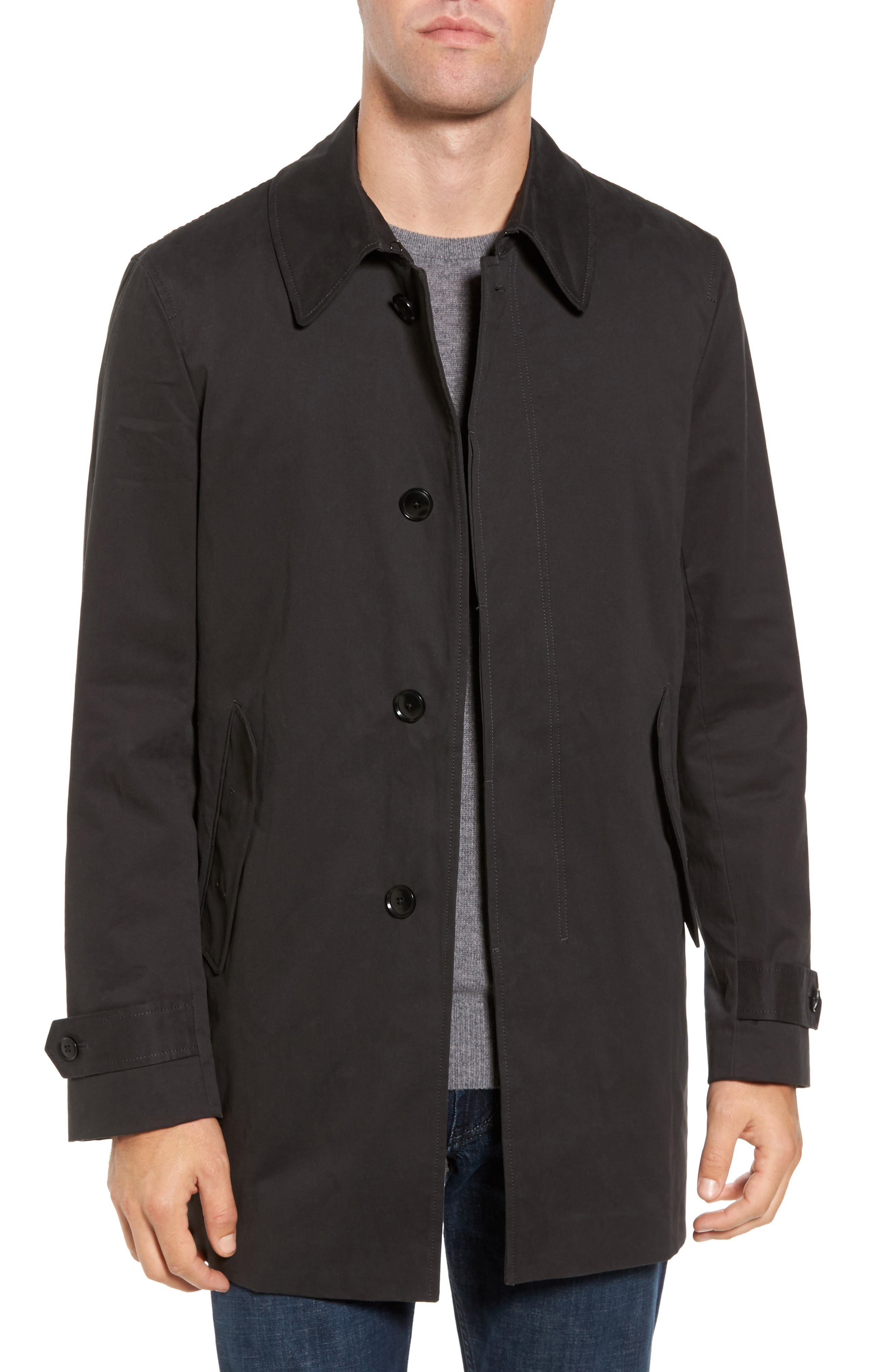Rodd & Gunn Hurleyville Twill Macintosh Coat