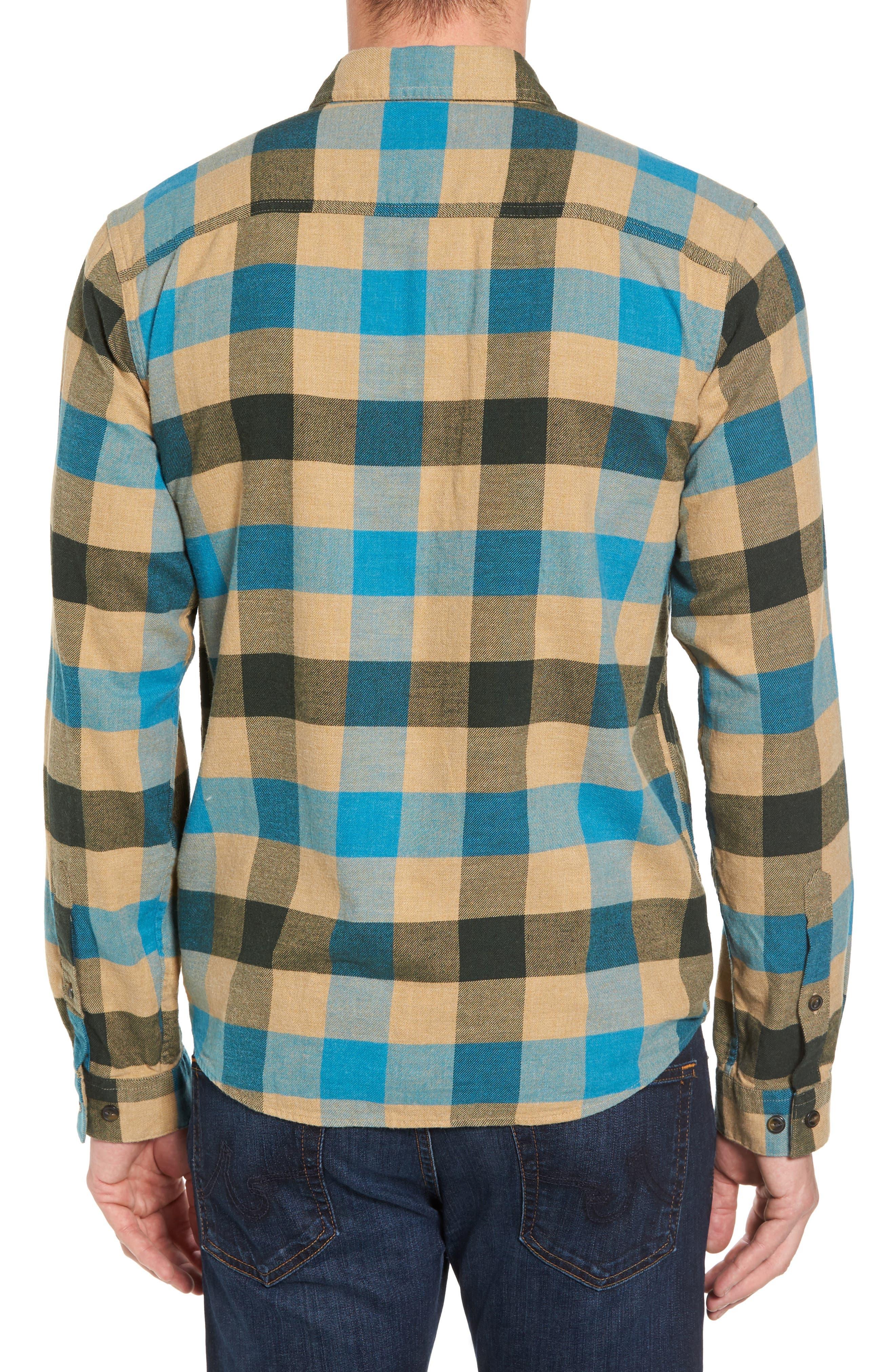 Alternate Image 2  - Patagonia Regular Fit Organic Cotton Flannel Shirt