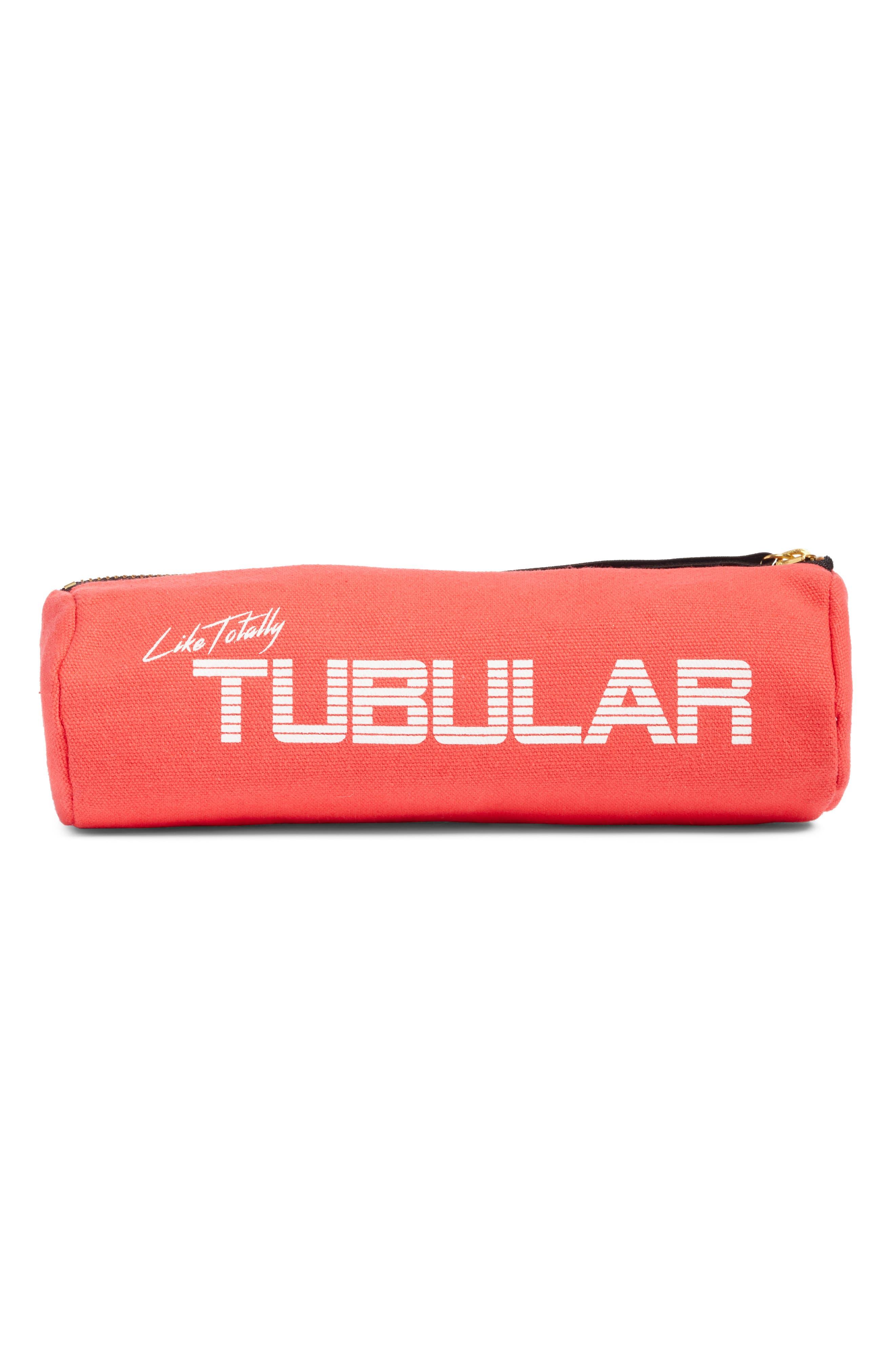 Levex Tubular Storage Bag,                         Main,                         color, Blush