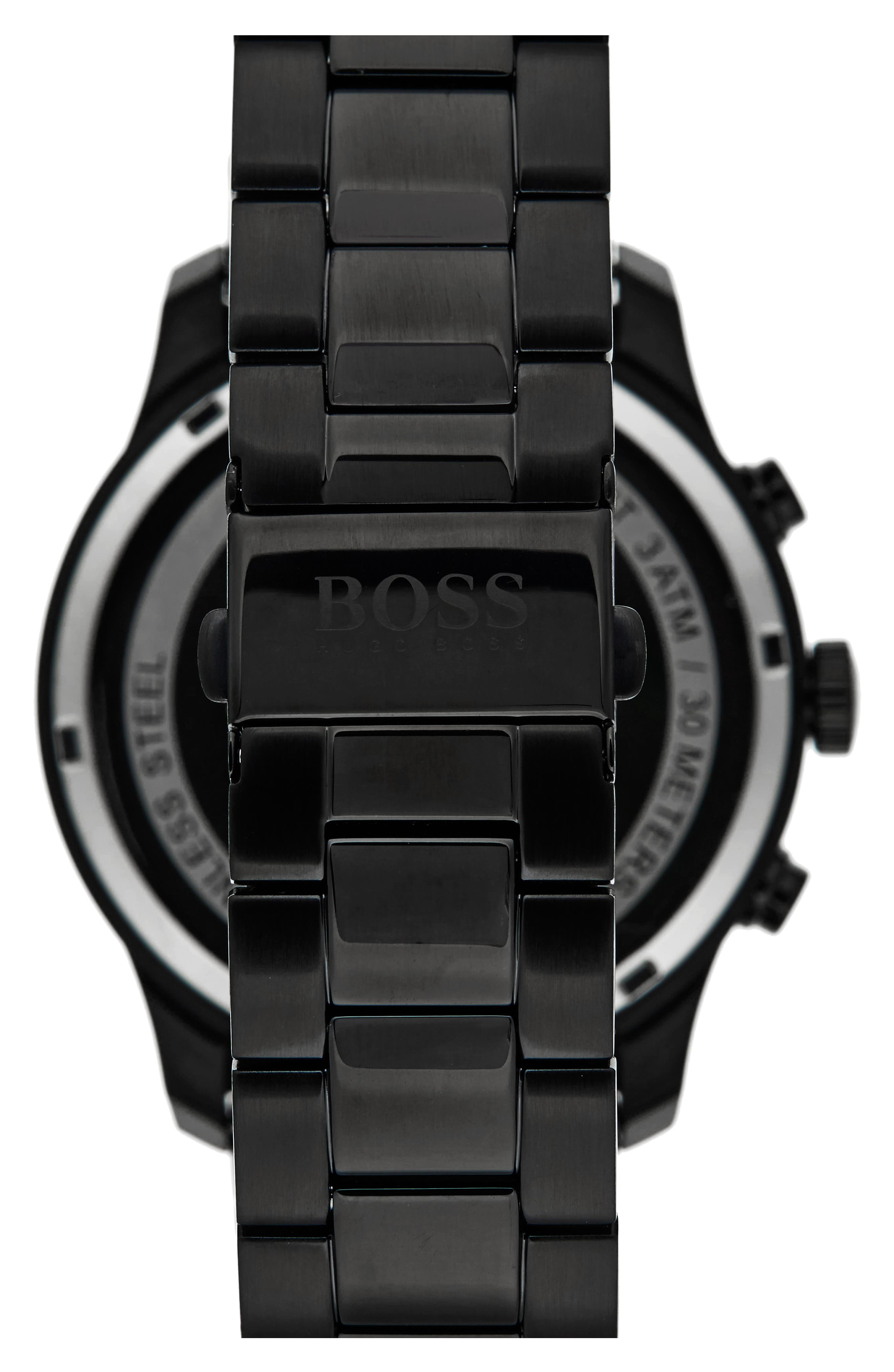 Alternate Image 2  - BOSS Professional Chronograph Bracelet Watch, 42mm