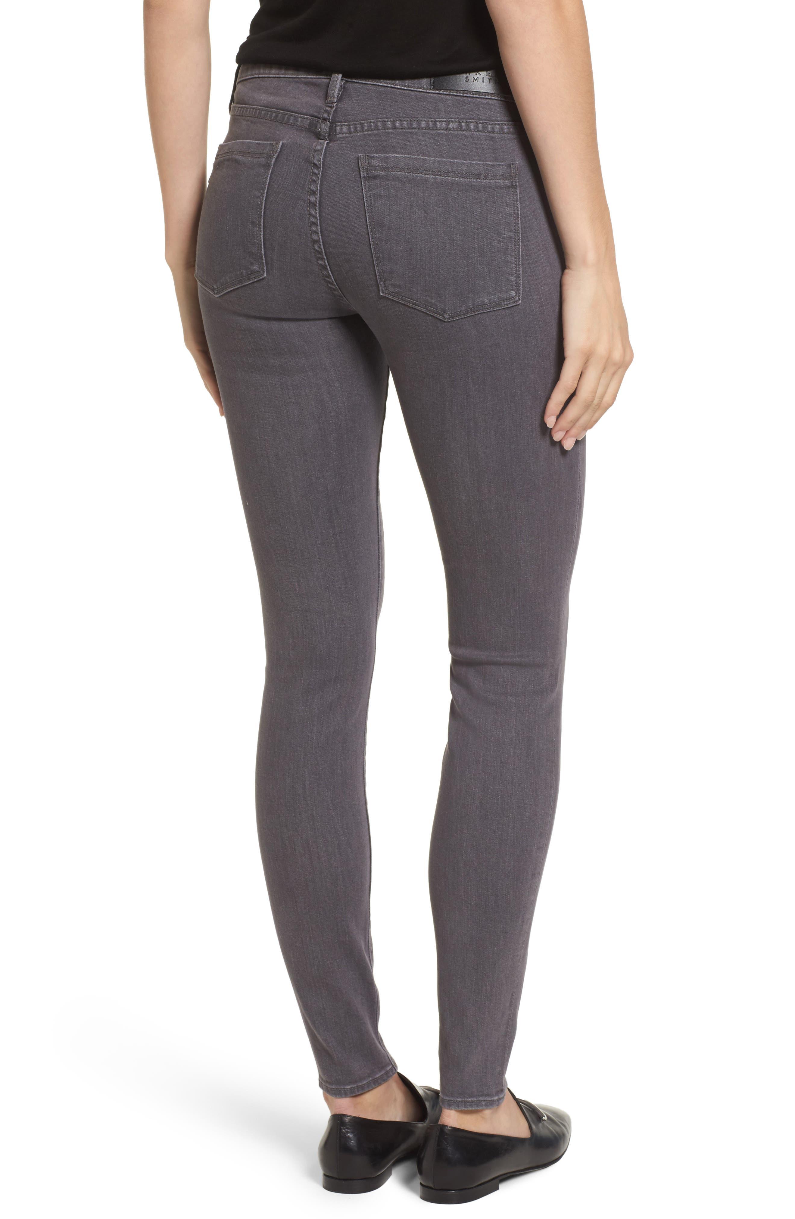 Ava Skinny Jeans,                             Alternate thumbnail 2, color,                             Overcast