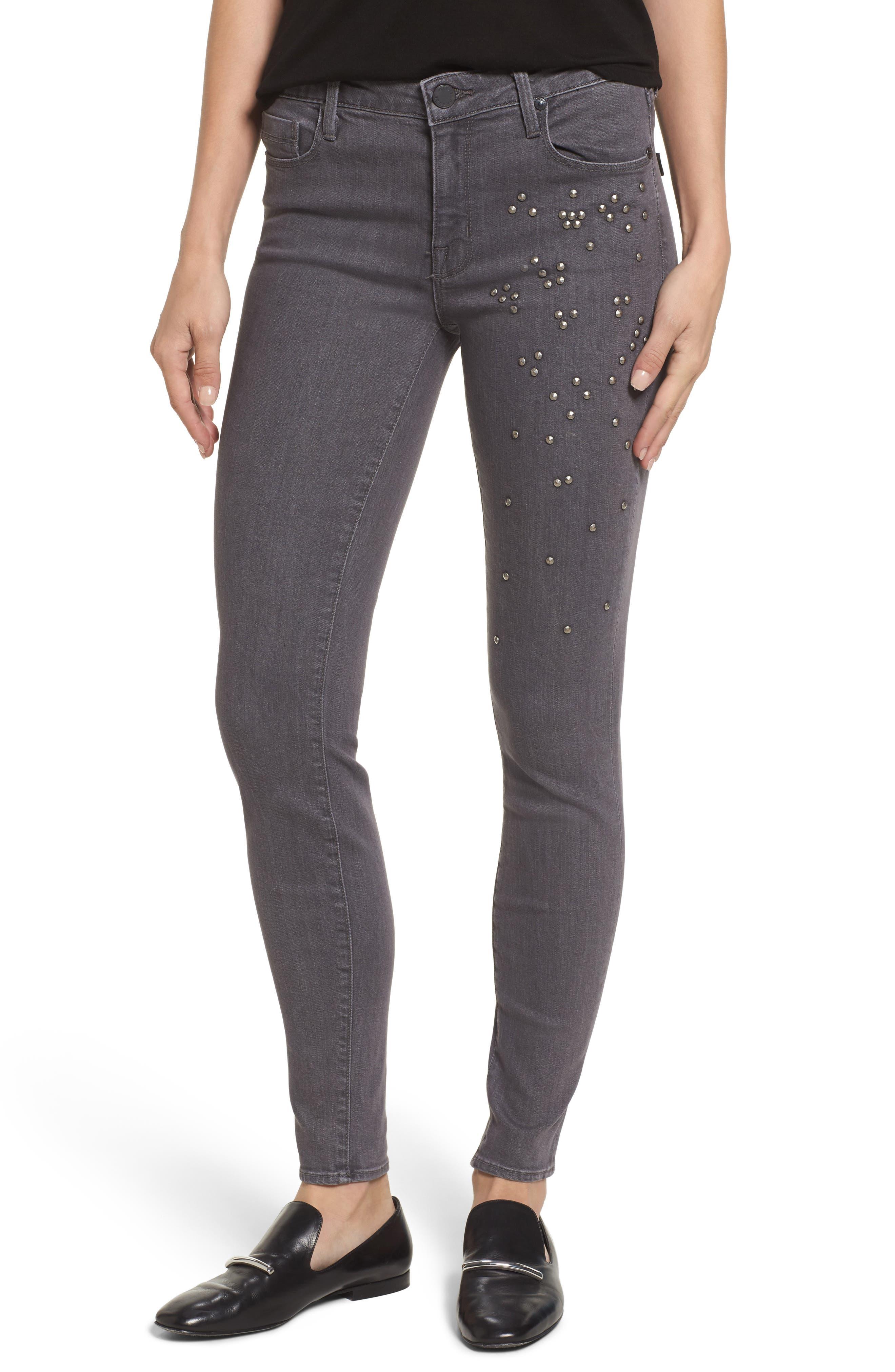 PARKER SMITH Ava Skinny Jeans (Overcast)