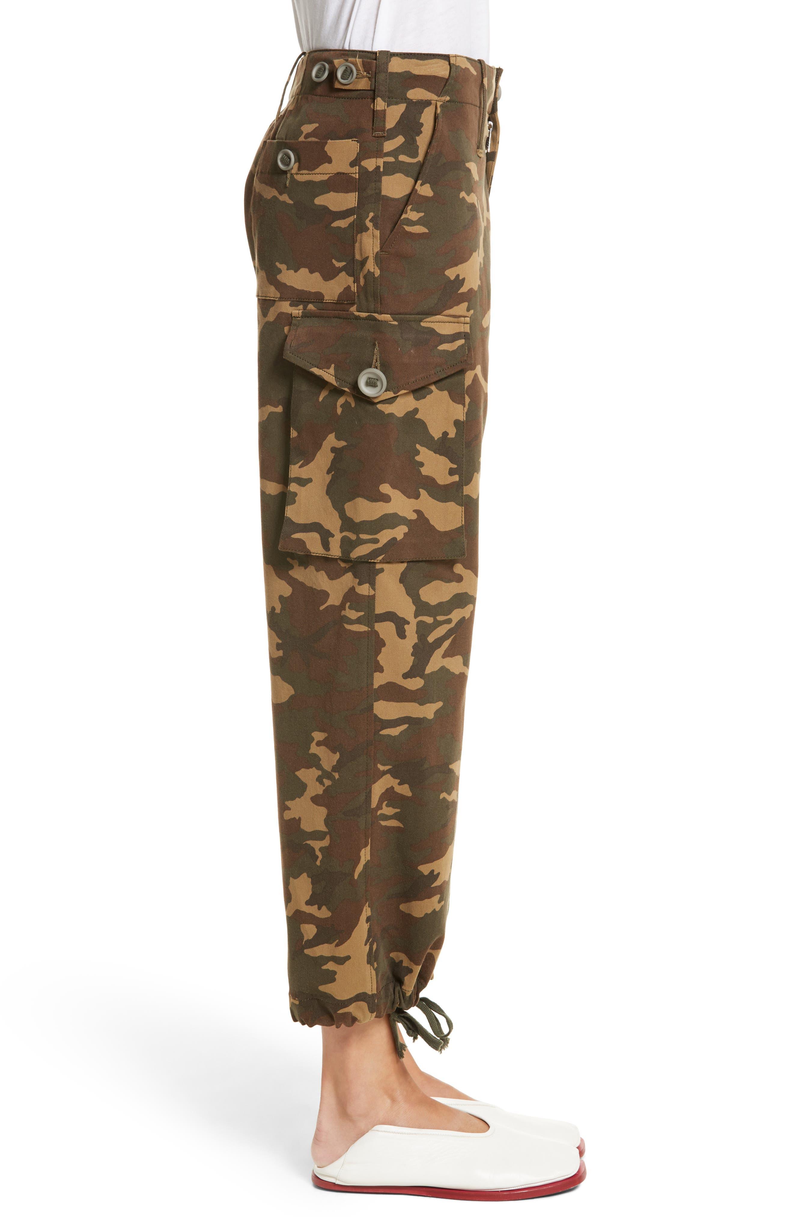 Alternate Image 3  - Proenza Schouler PSWL Camouflage Stretch Cotton Pants