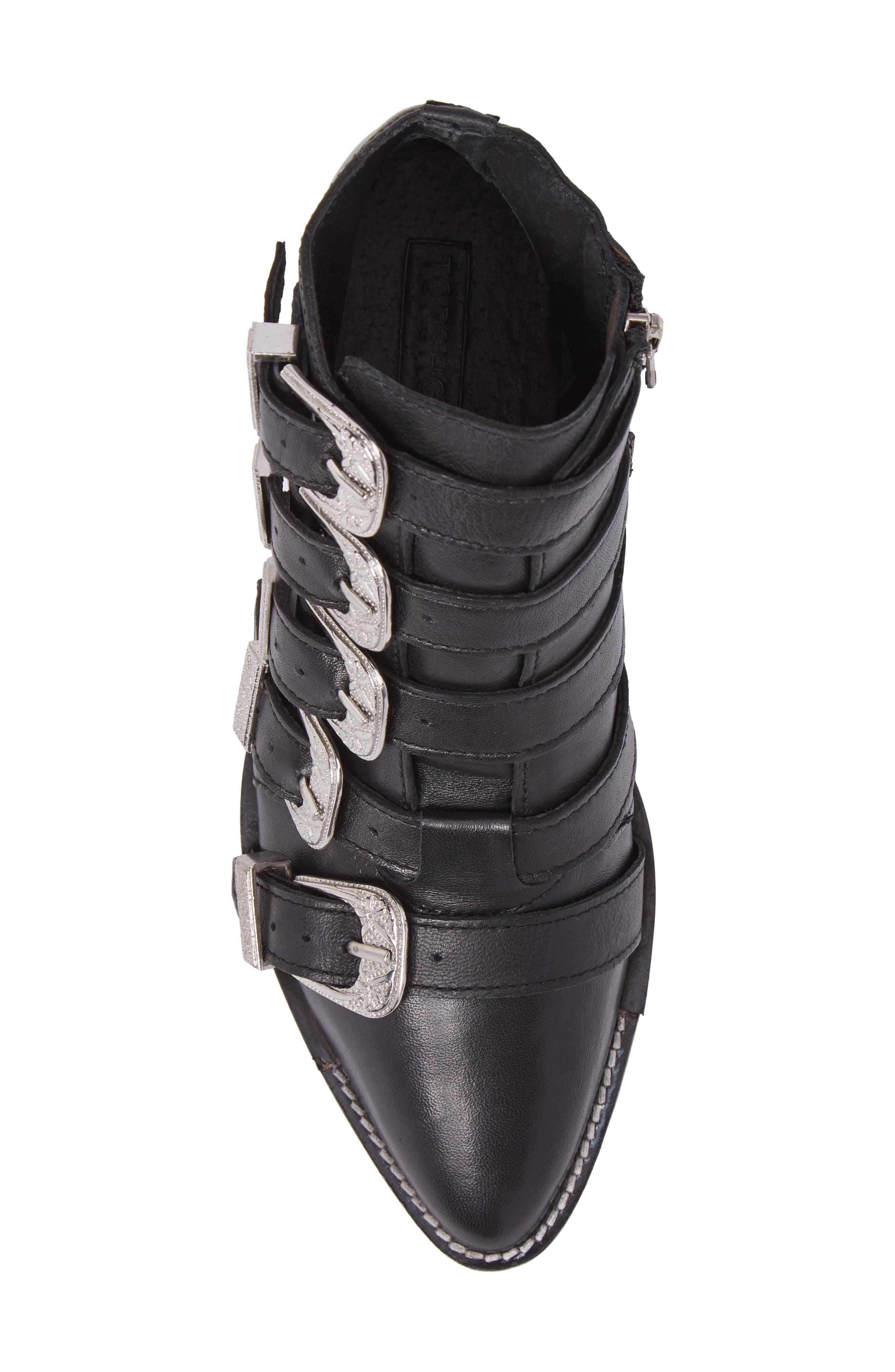 Alternate Image 5  - Topshop Andi Multi Buckle Boot (Women)