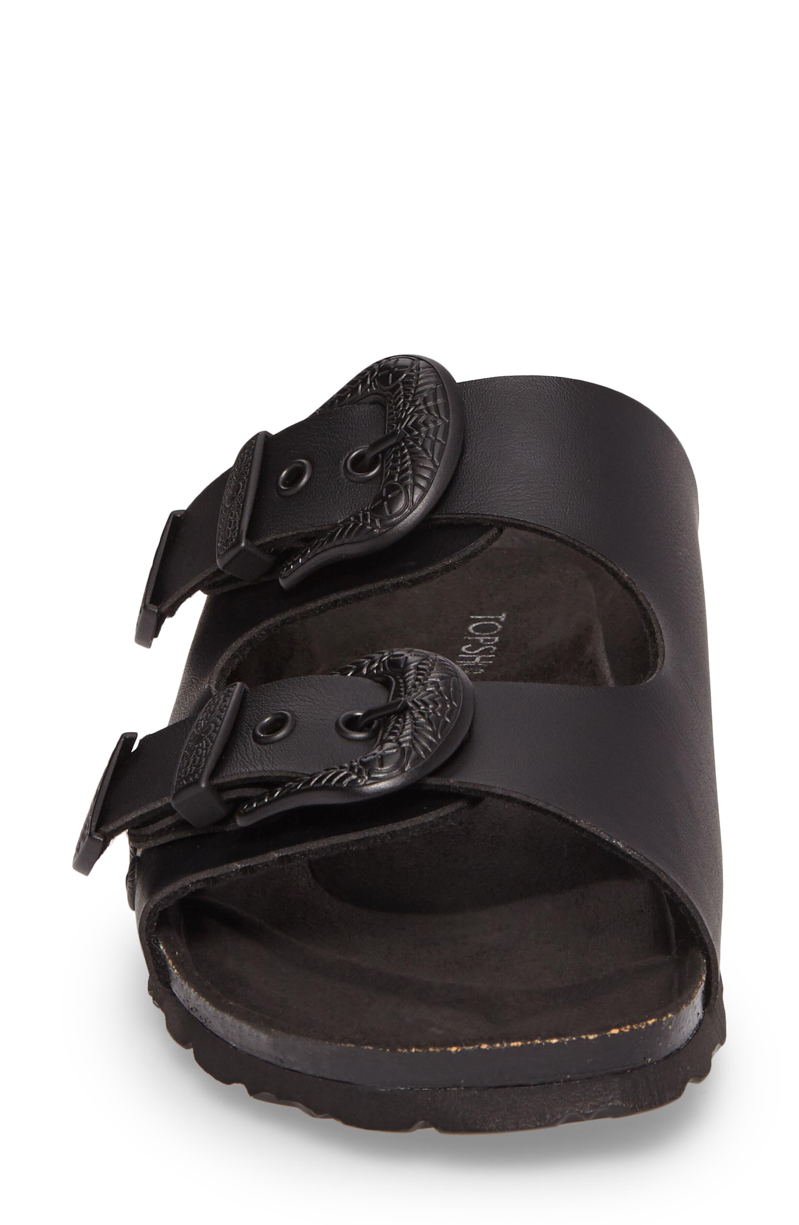 Alternate Image 4  - Topshop Studded Slide Sandal (Women)