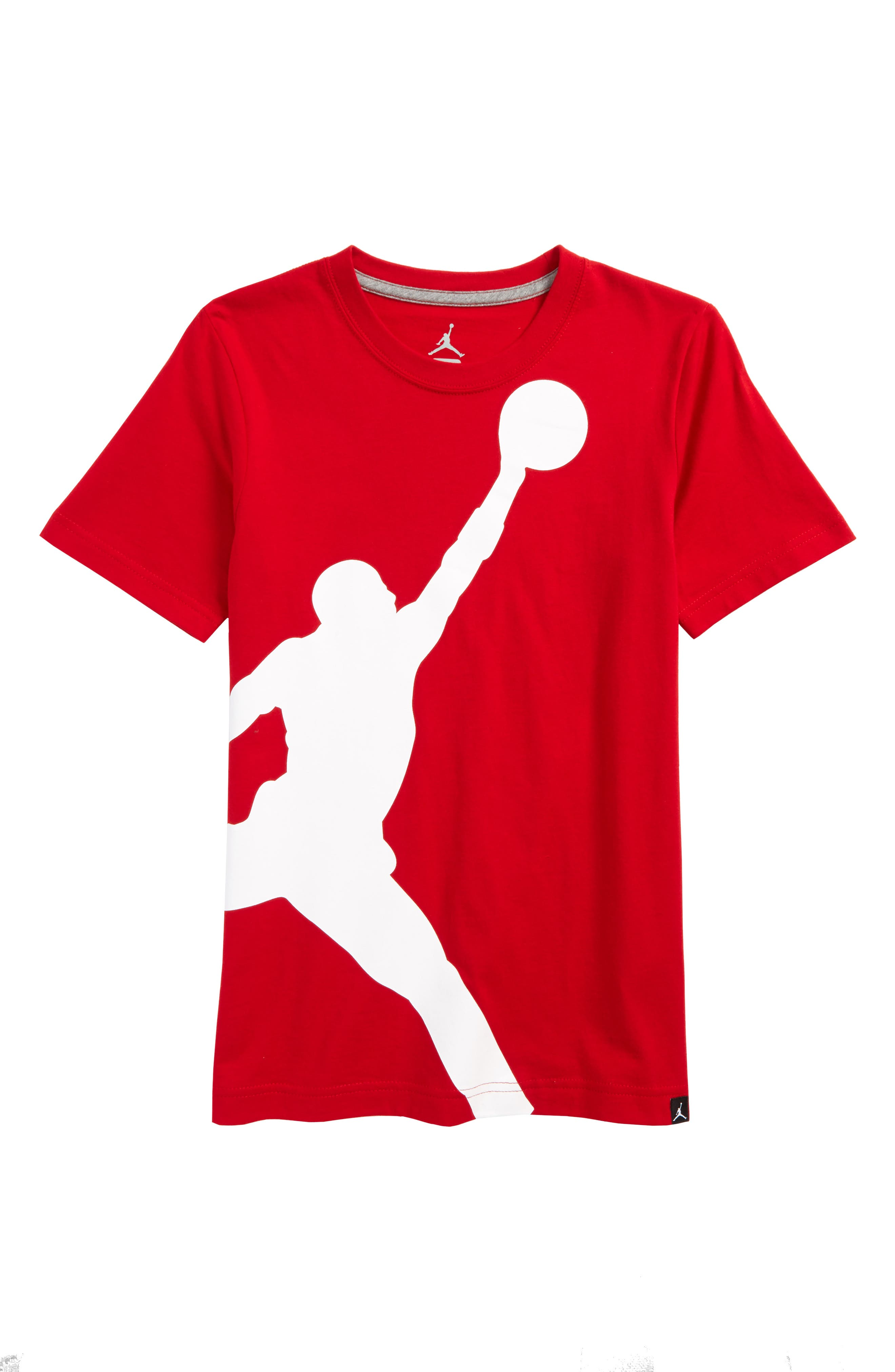 Alternate Image 1 Selected - Jordan Jumbo Jumpman T-Shirt (Big Boys)