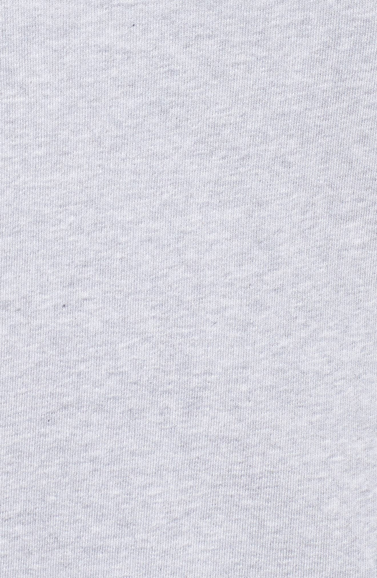 Patchwork Sweatshirt,                             Alternate thumbnail 5, color,                             Grey Floral