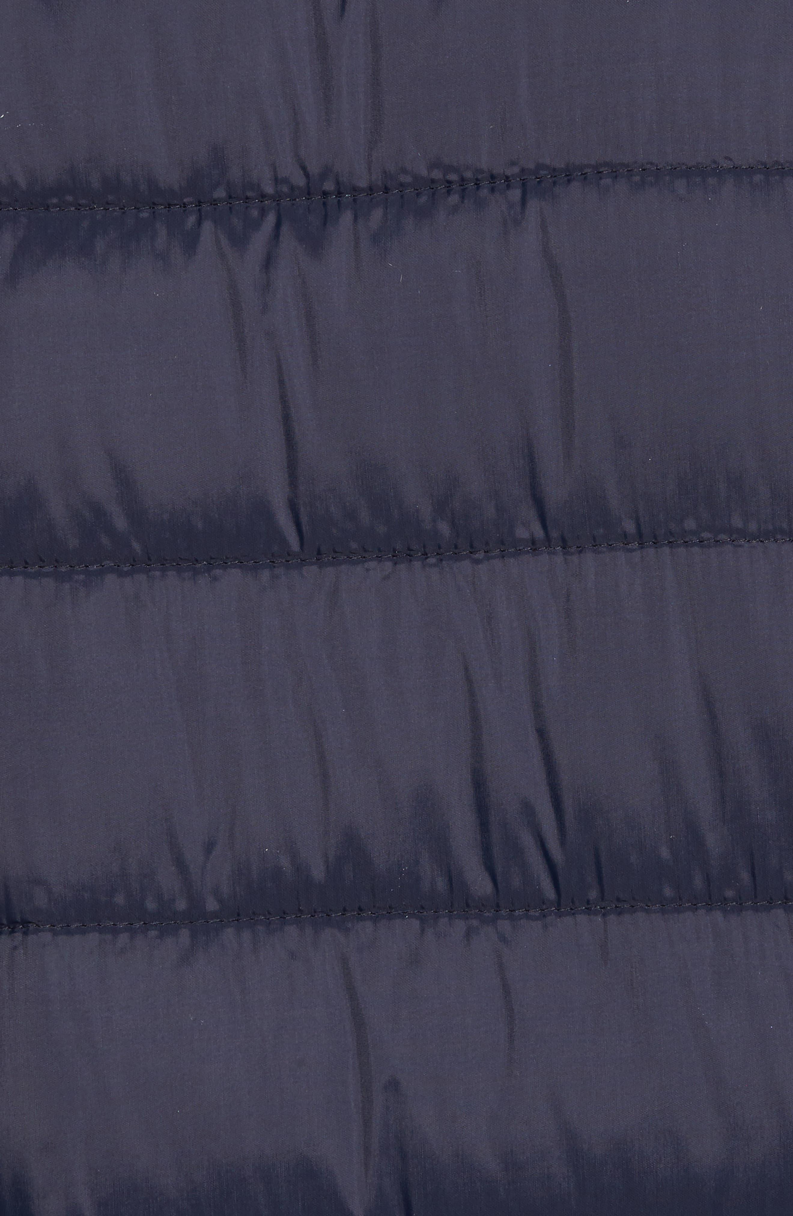 Alternate Image 5  - Black Rivet Water Resistant Packable Puffer Jacket