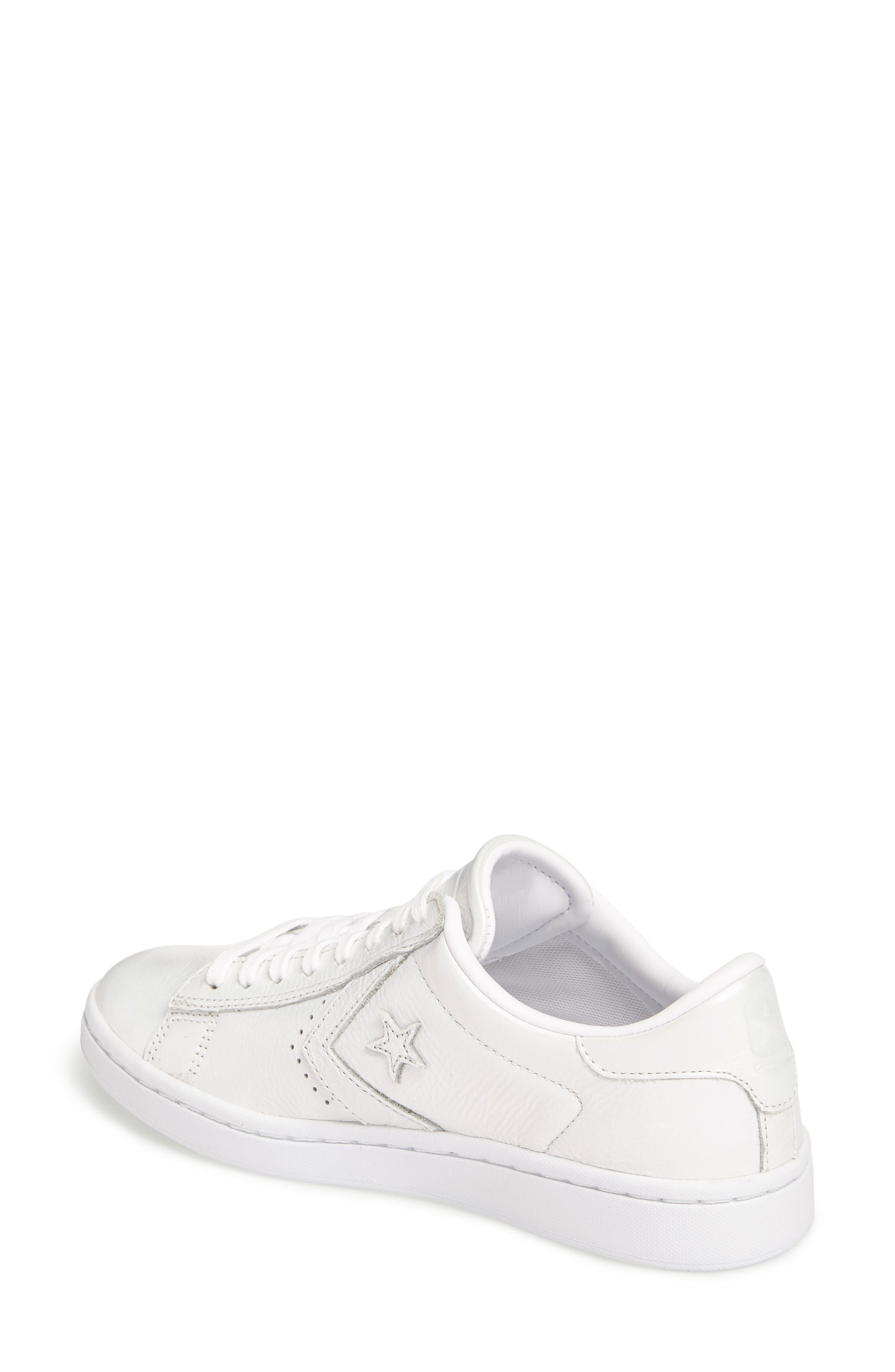 Pro Leather LP Sneaker,                             Alternate thumbnail 2, color,                             White Leather