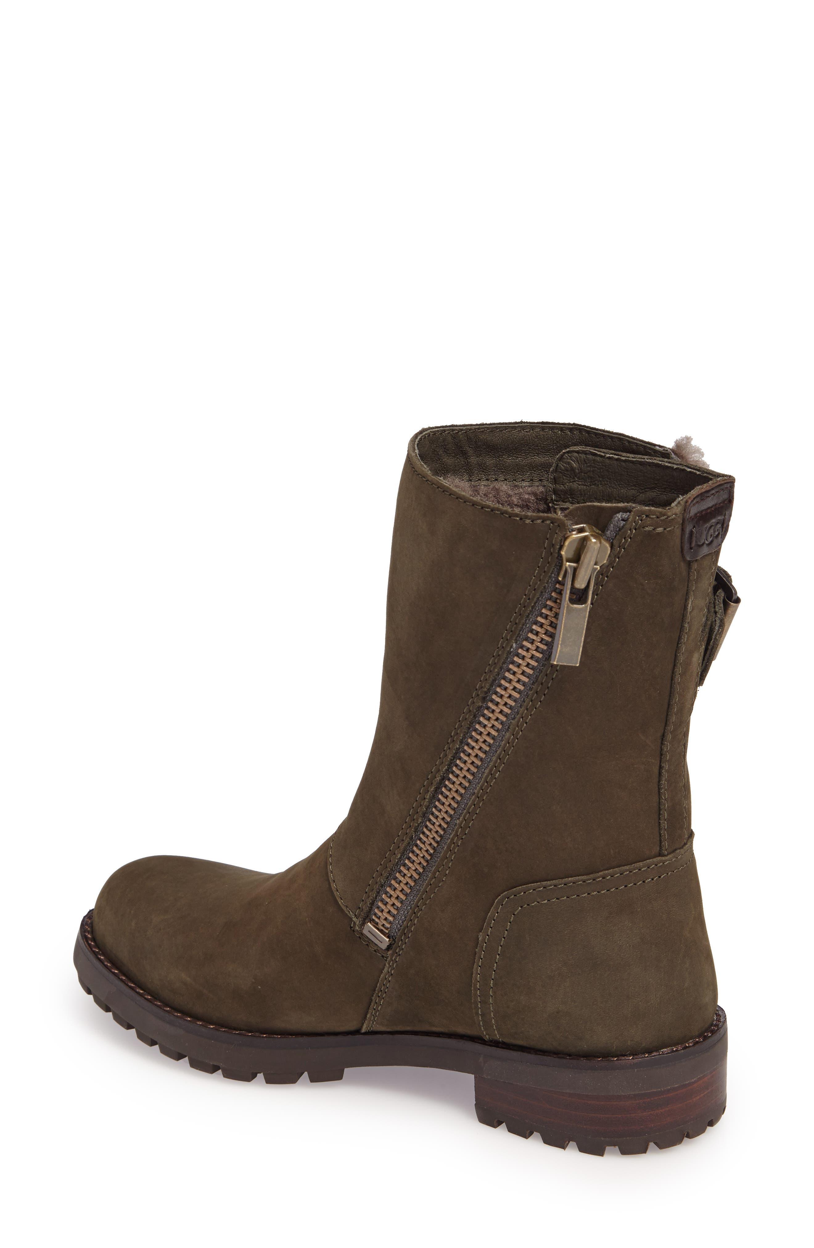 Alternate Image 2  - UGG® Niels Water Resistant Genuine Shearling Boot (Women)