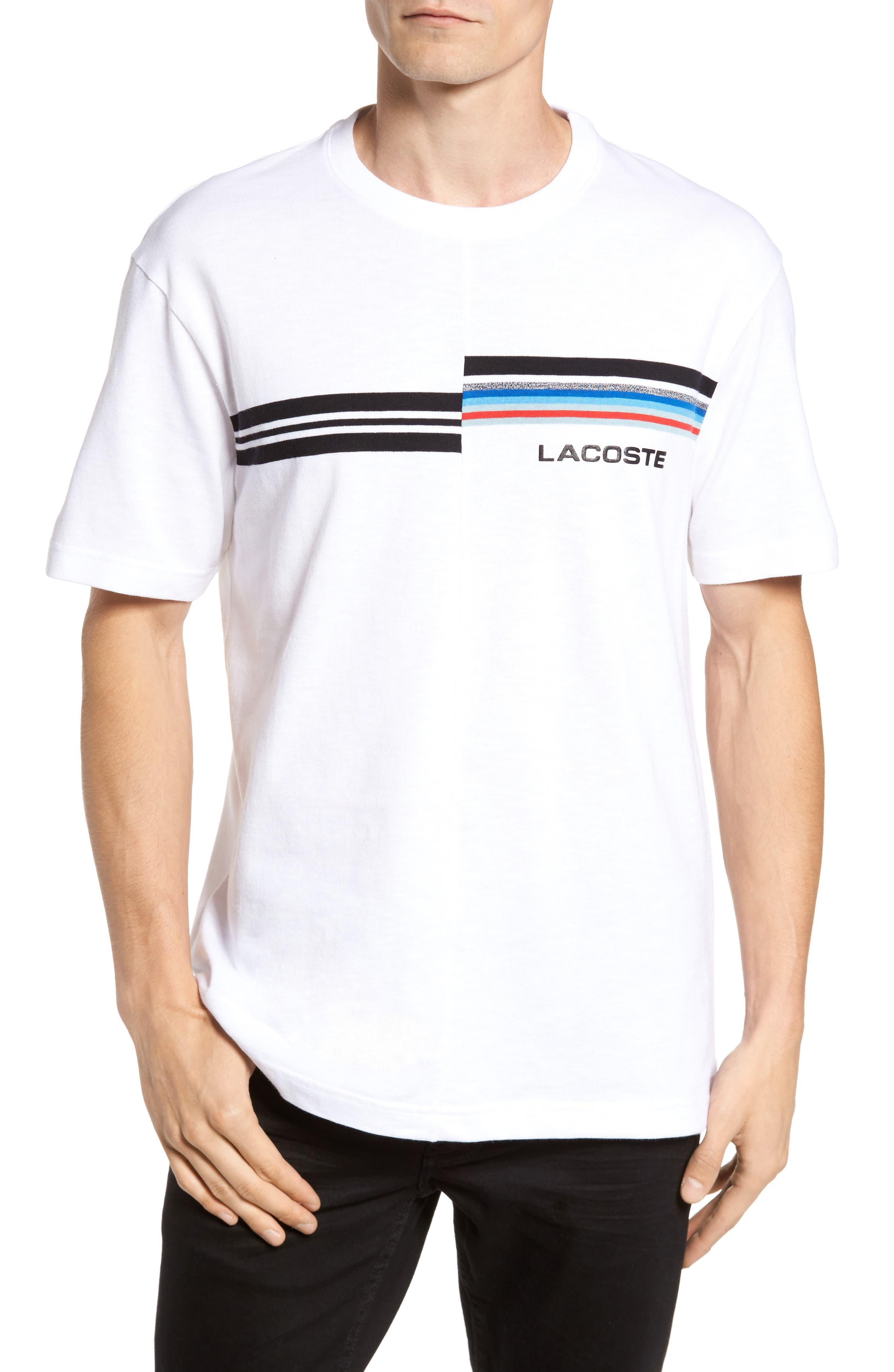 Mouline T-Shirt,                         Main,                         color, Sbh White/ Multico