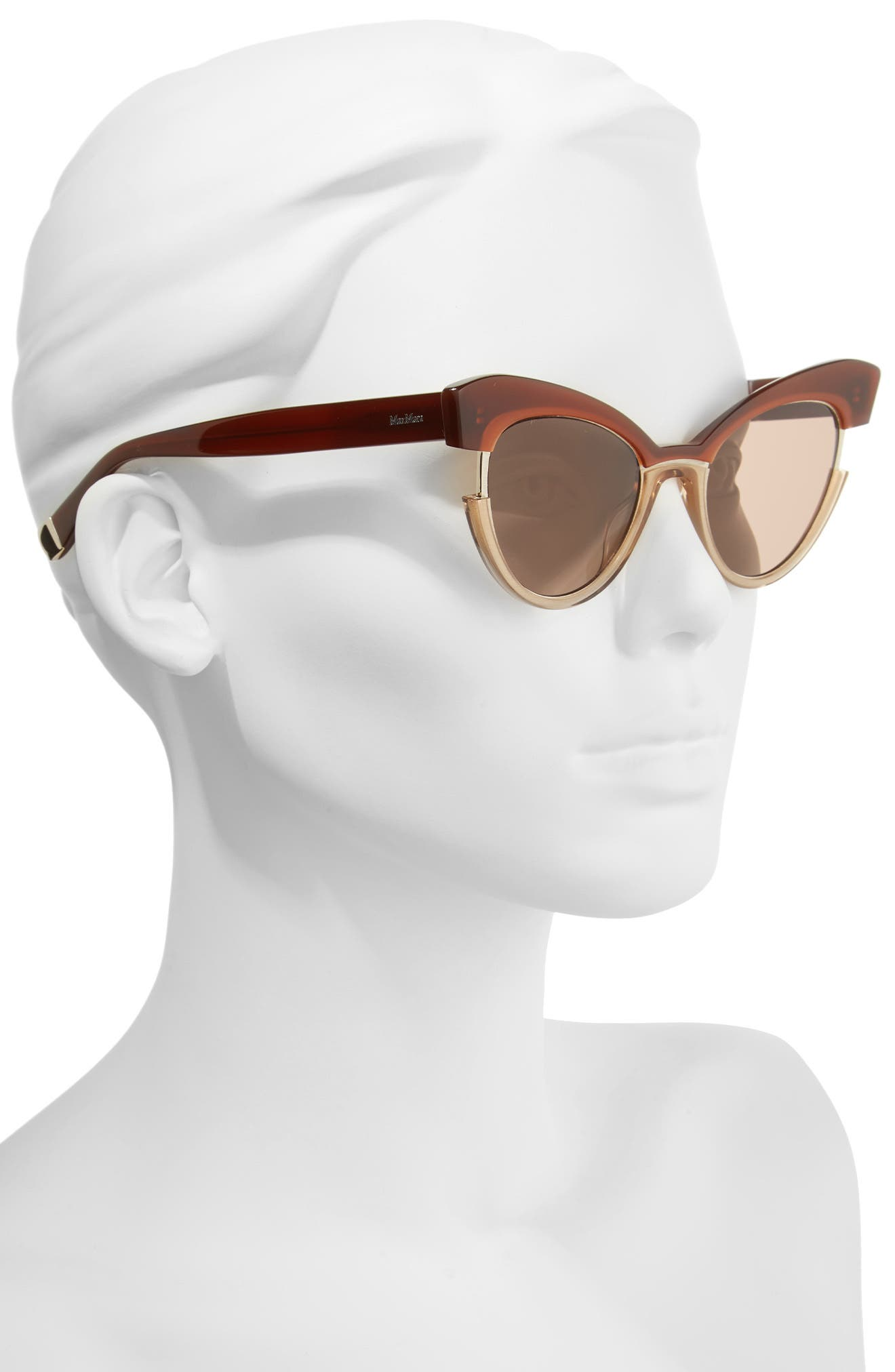 Alternate Image 2  - Max Mara 49mm Gradient Lens Cat Eye Sunglasses