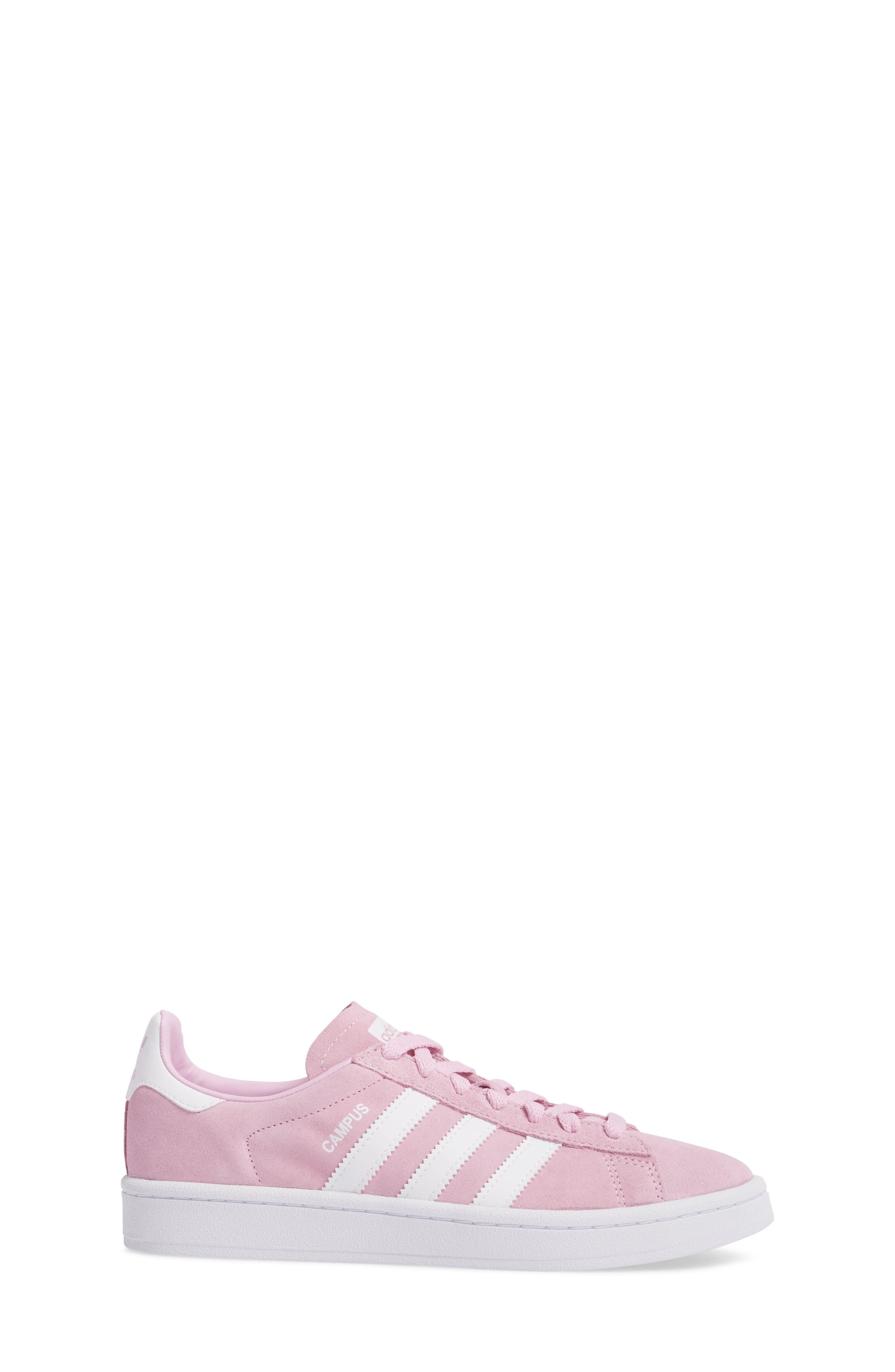 Alternate Image 3  - adidas Campus Sneaker (Big Kid)