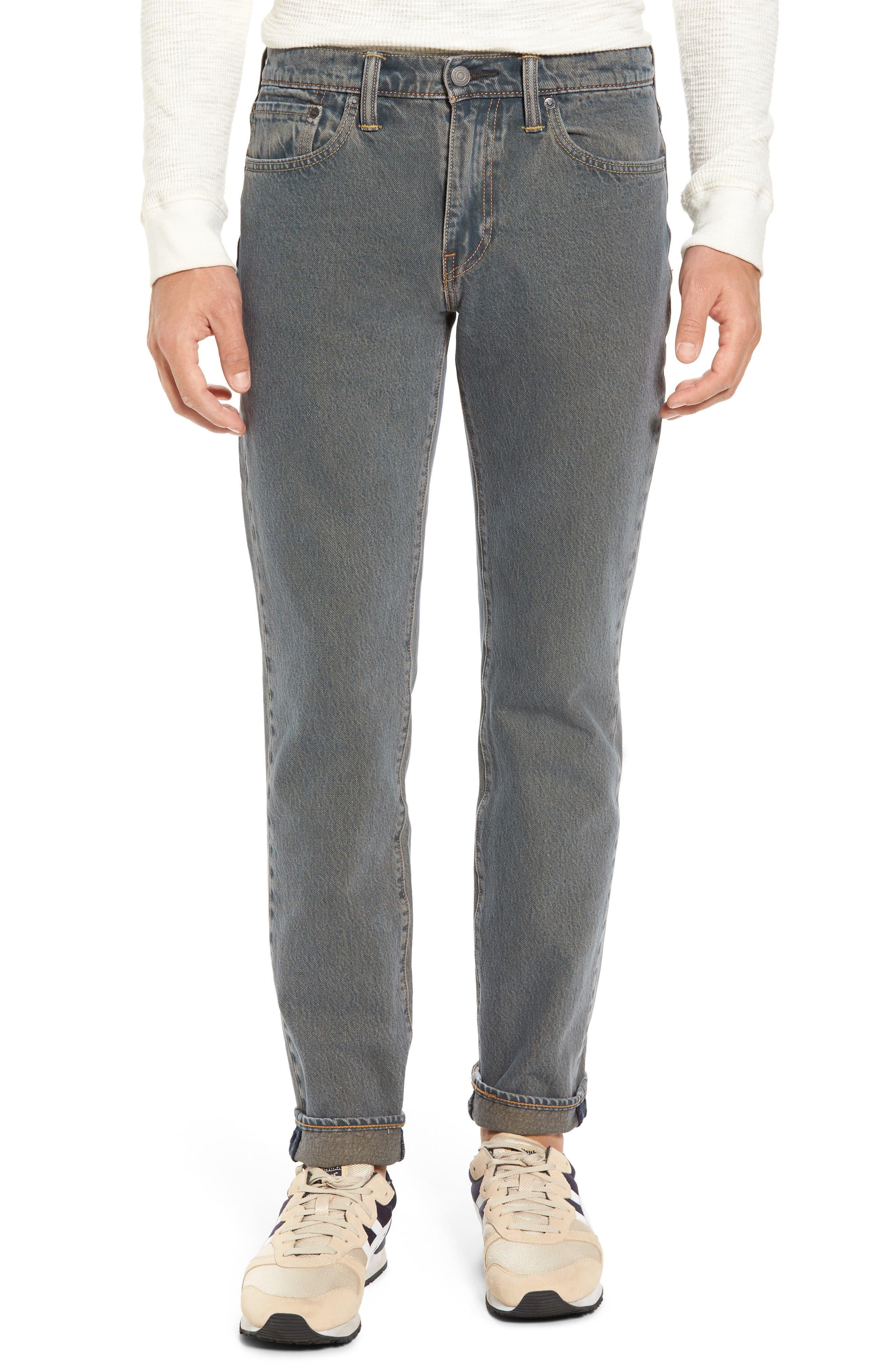 Levi's® 511™ Slim Fit Jeans (Charcoal Clarkson)